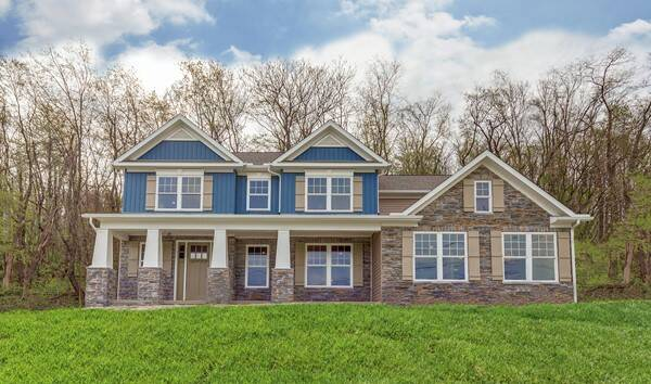 Build on your lot home designs thorndale for Home builders in ohio on your lot