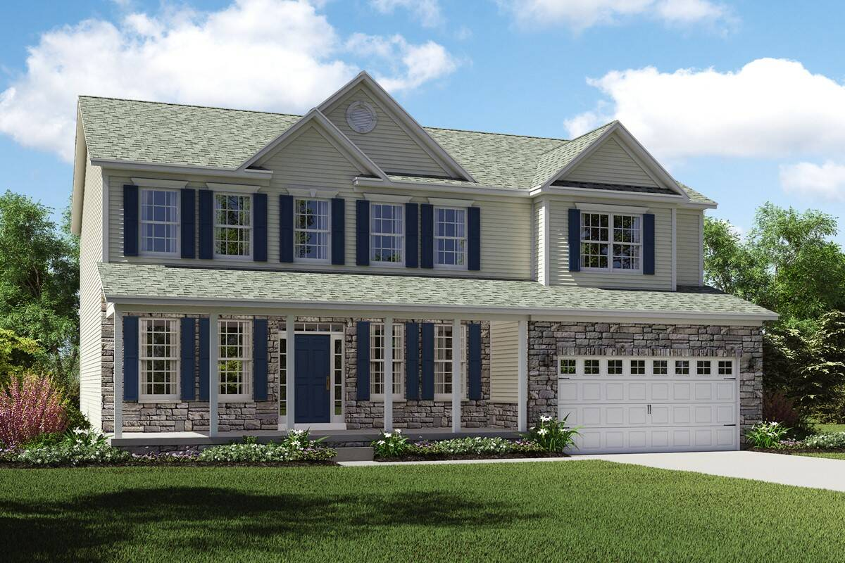 Build on your lot home designs dover for New source homes