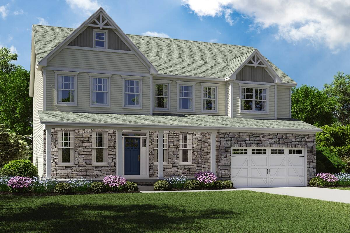 N Home Elevation Images : Build on your lot home designs dover