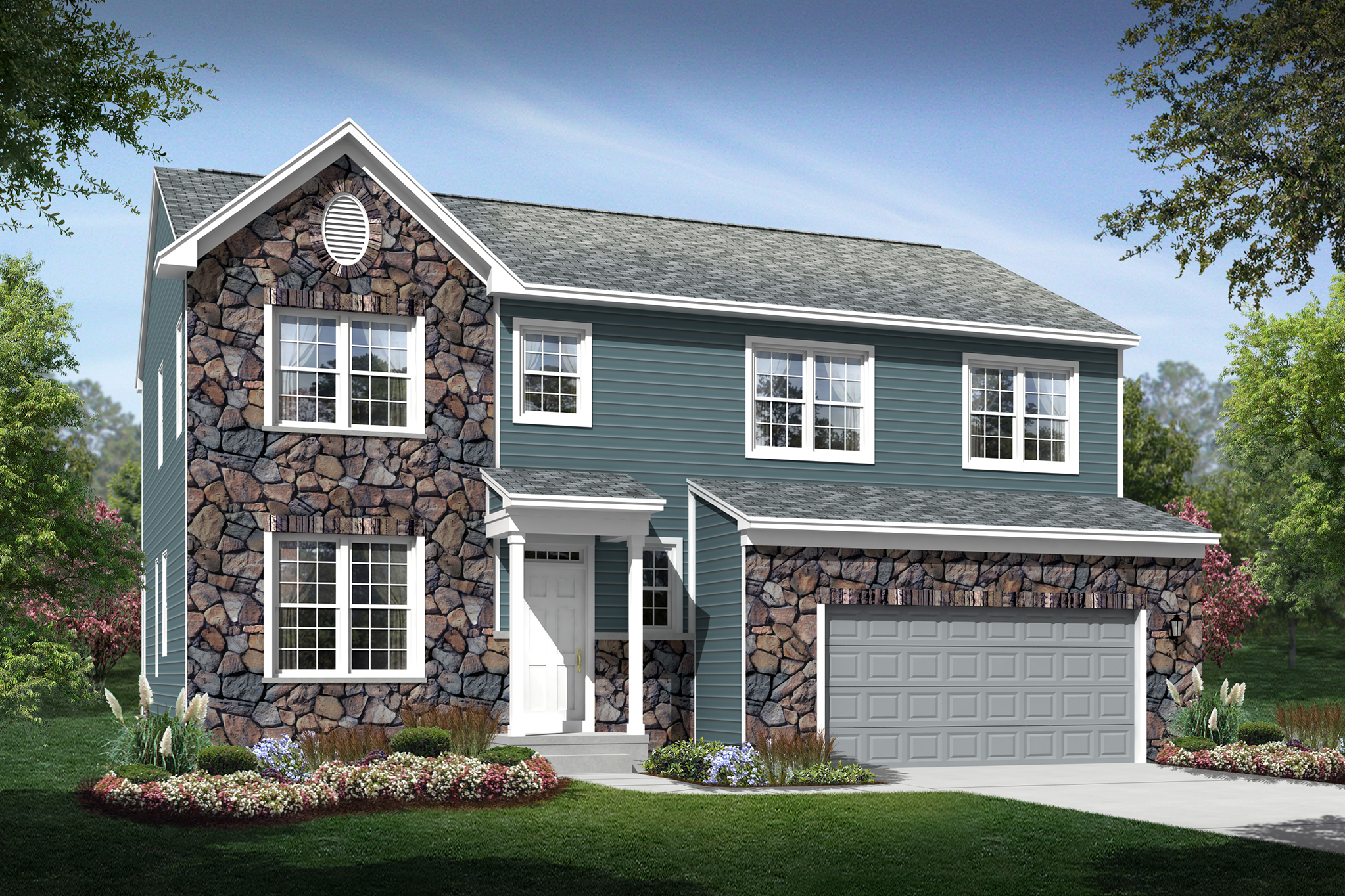 Anderson BT New single family homes stone beautiful