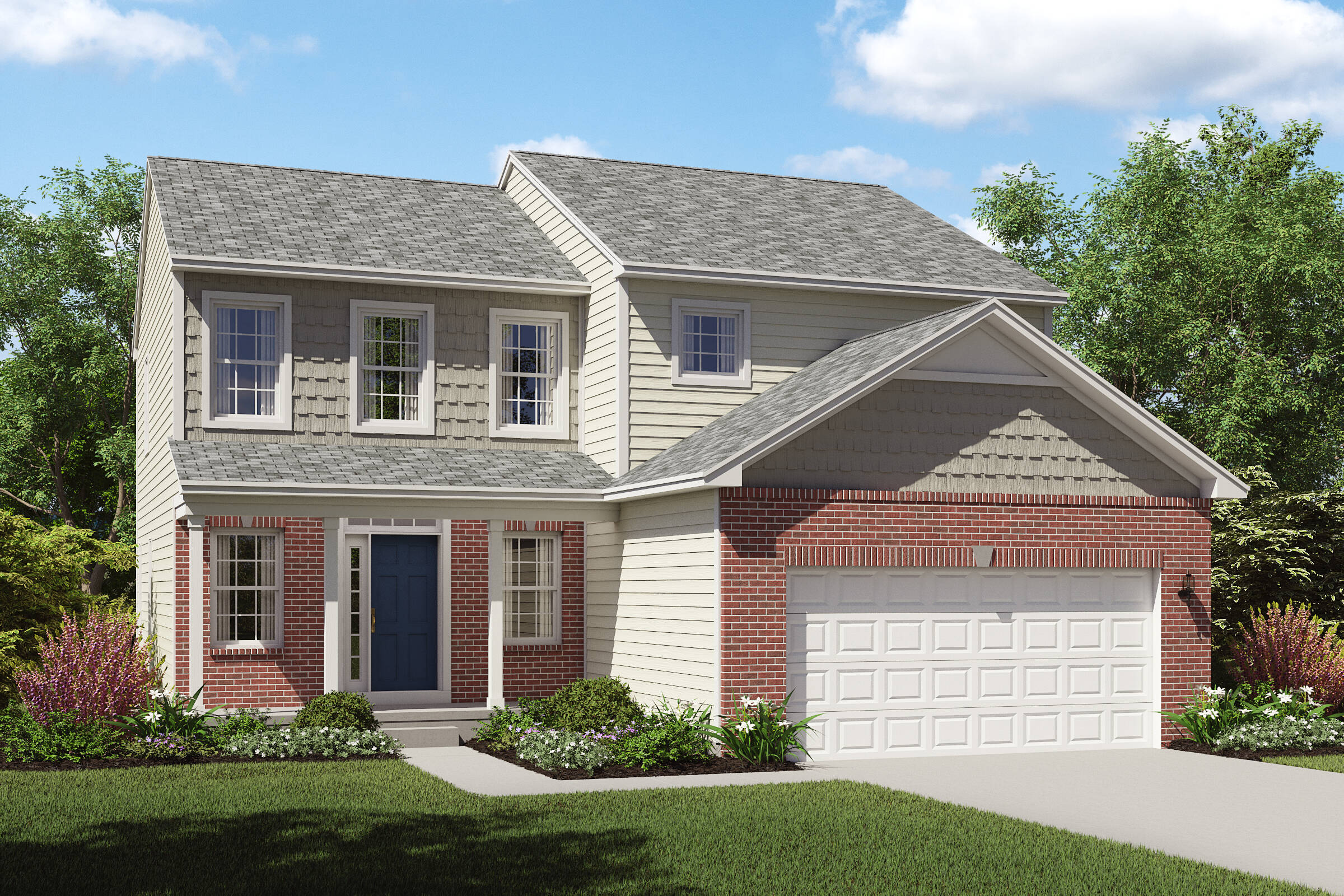 new homes brick front appleton cleveland ohio