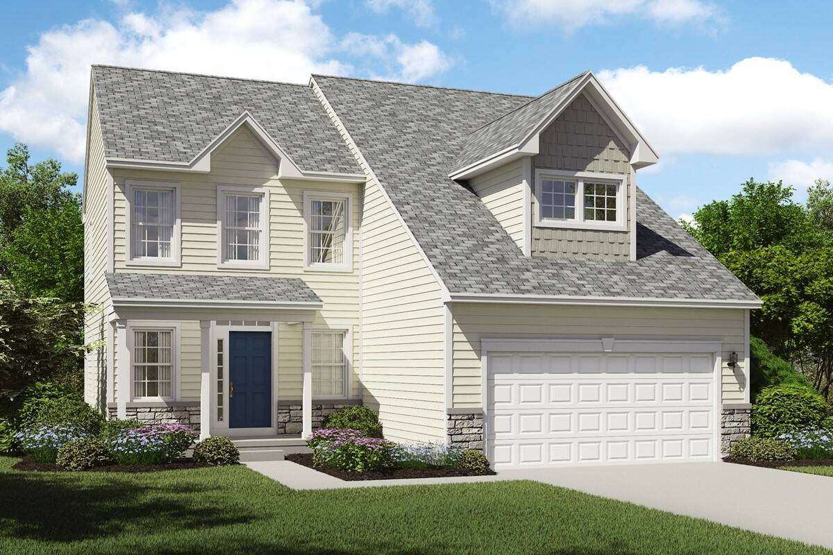 Herrington place new homes in reminderville oh for Elegant stone
