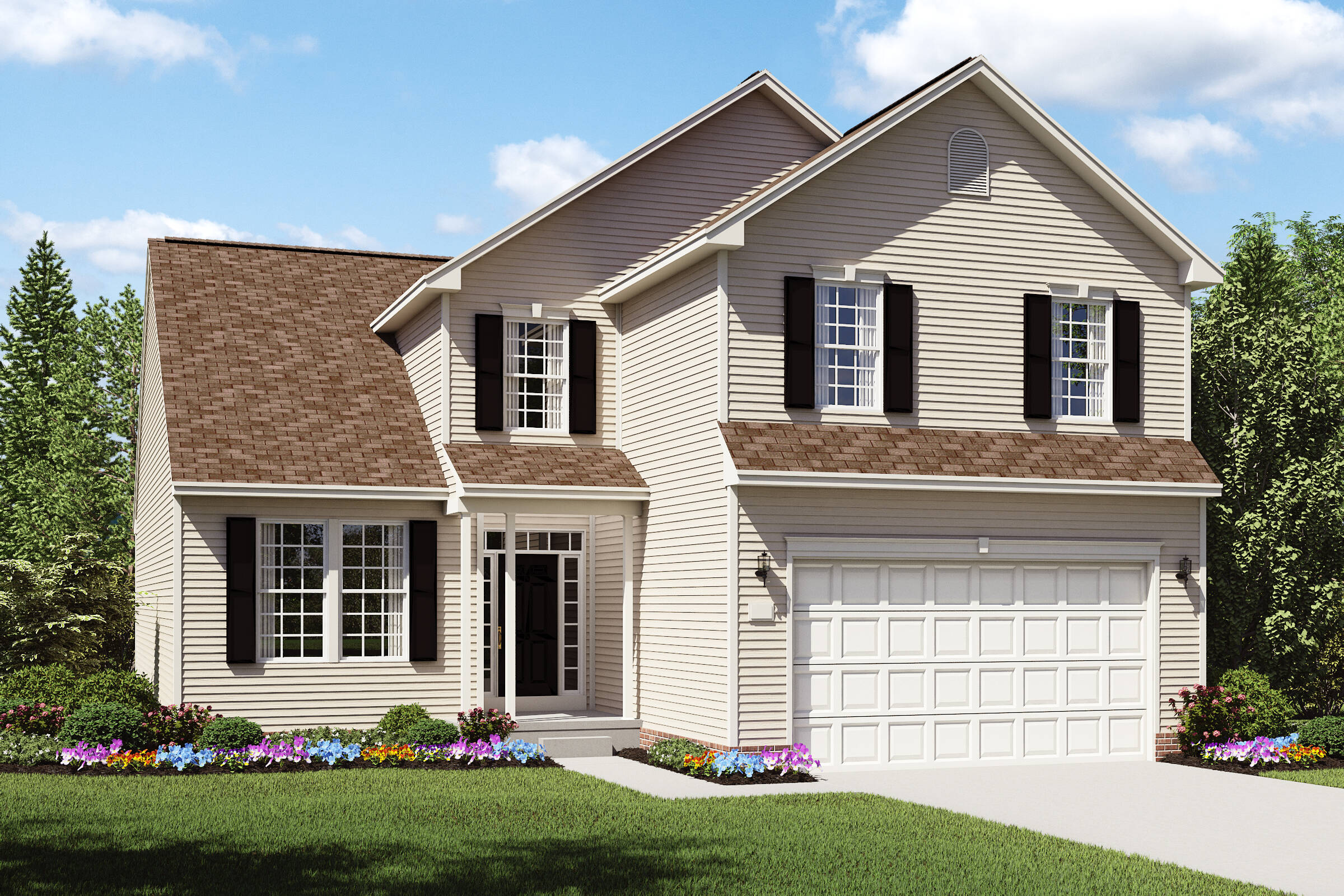 barrington a new home designs in northeast ohio