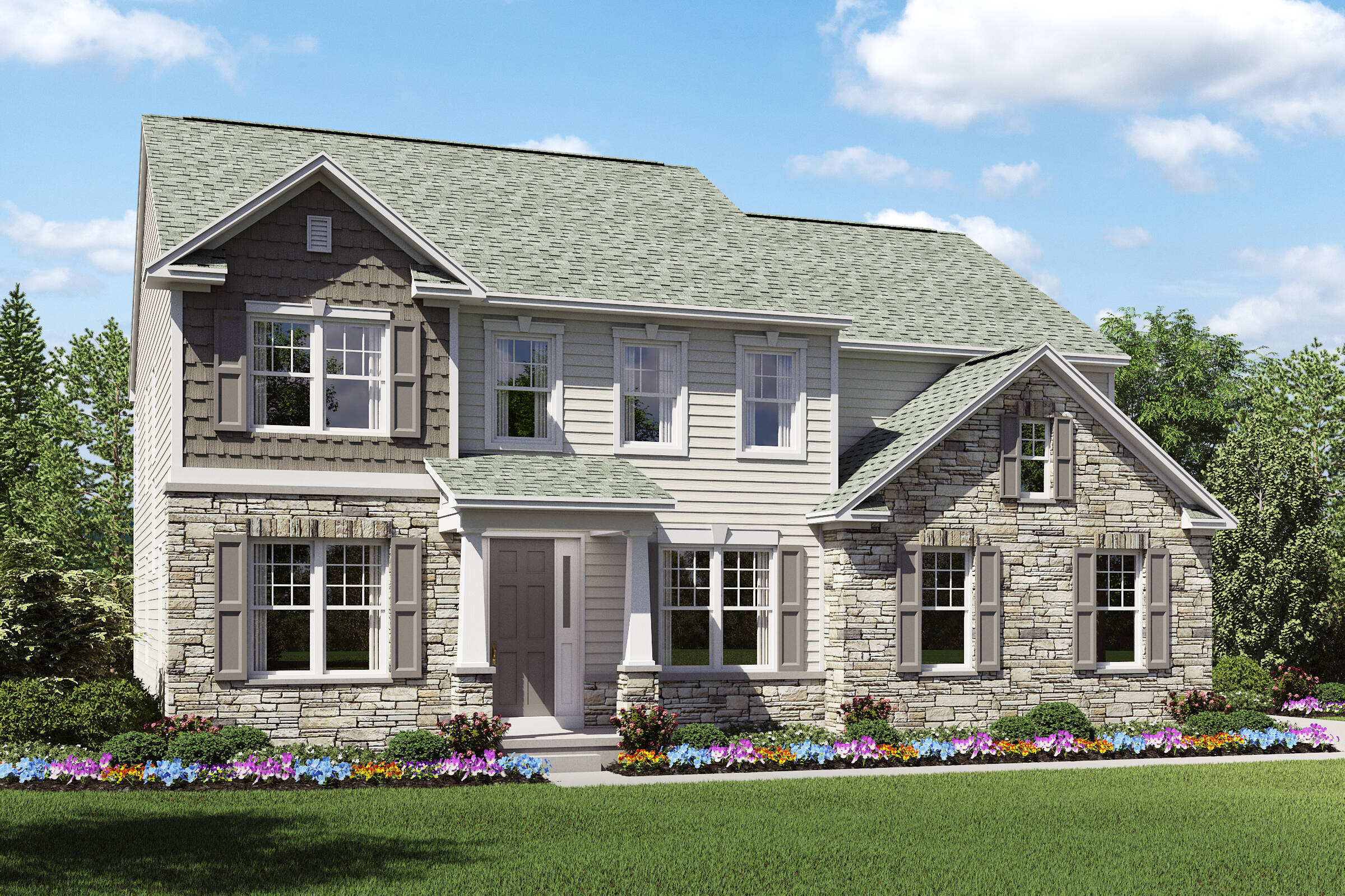 Beaumont DT SL new home designs k hovnanian homes