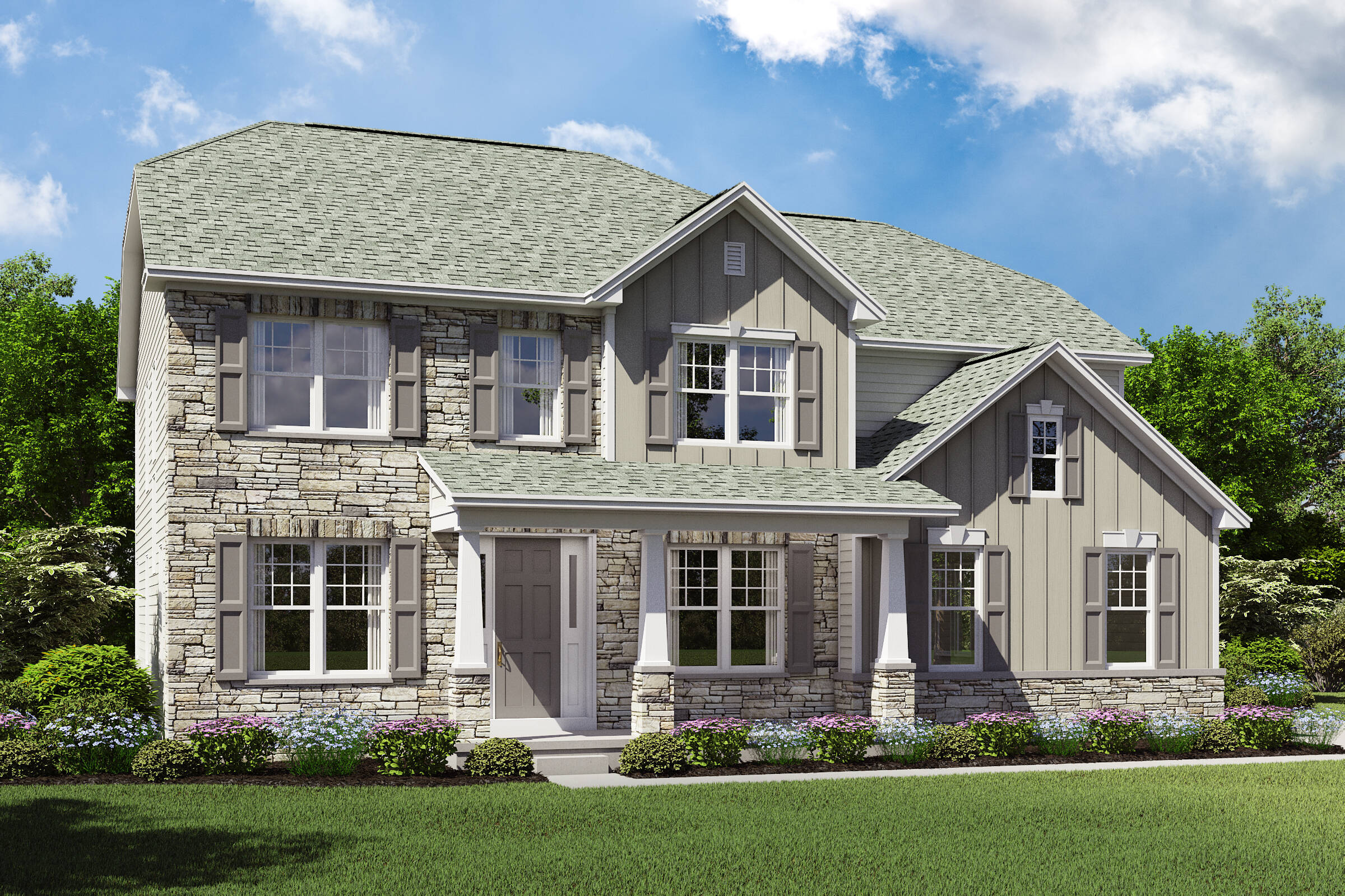 Beaumont ET SL new homes k hovnanian northeast ohio