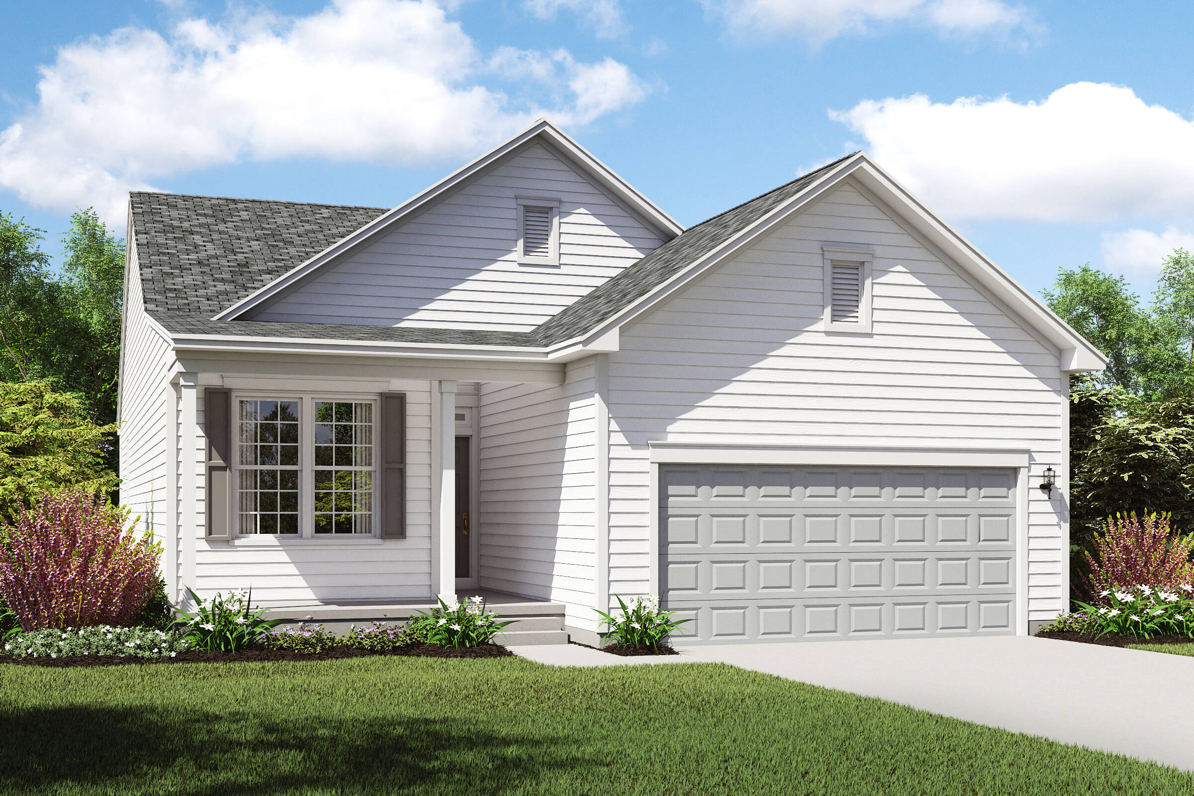 Genial Ranch Home Design New Homes Capri 2 C Lorain Ohio Find New Homes In  Cleveland East OH K Hovnanian
