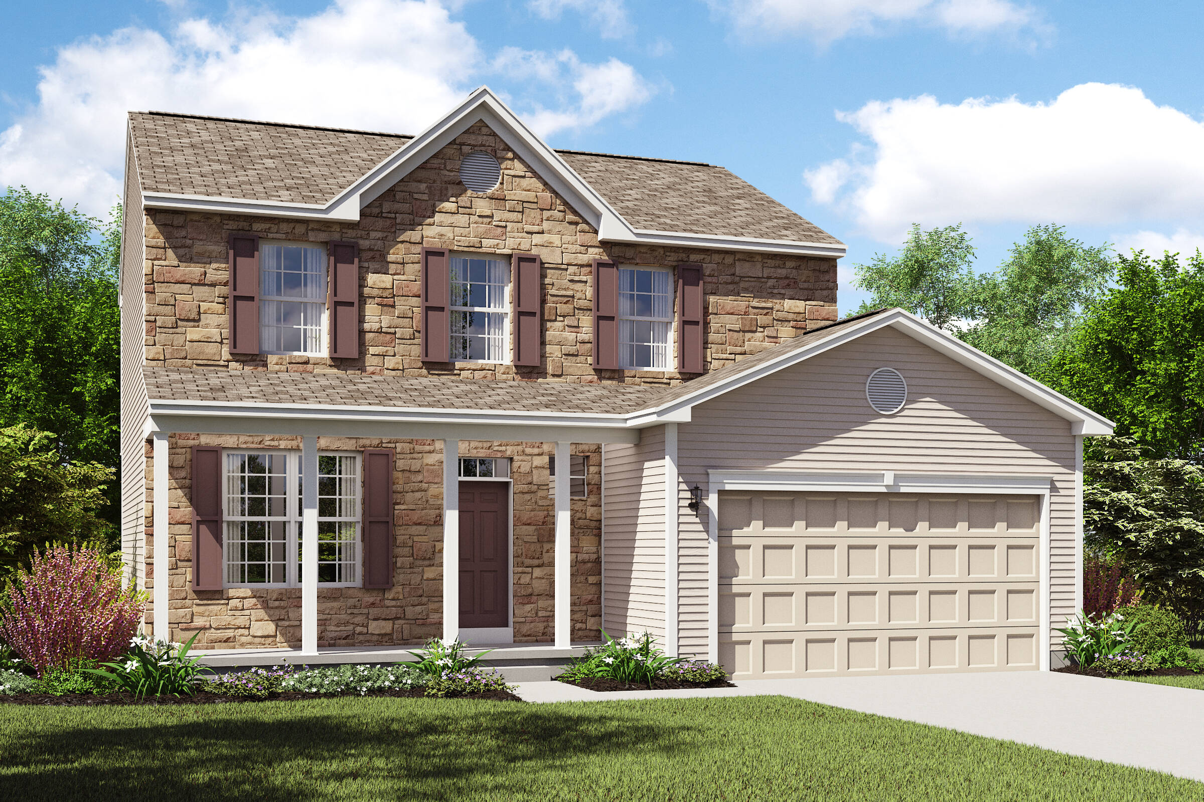 Concord II CT k hovnanian new homes cleveland
