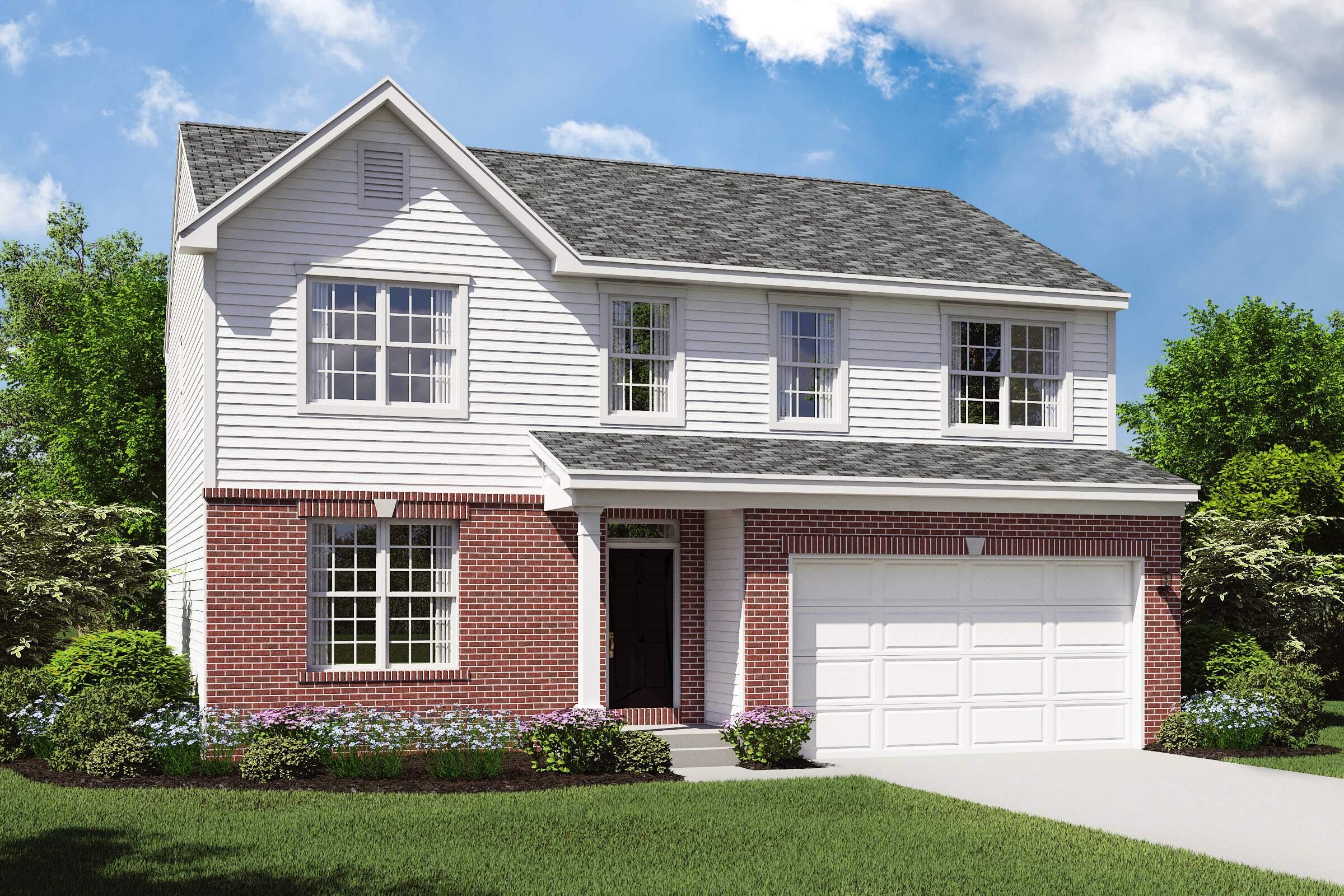 hanover b brick exterior new upscale home design
