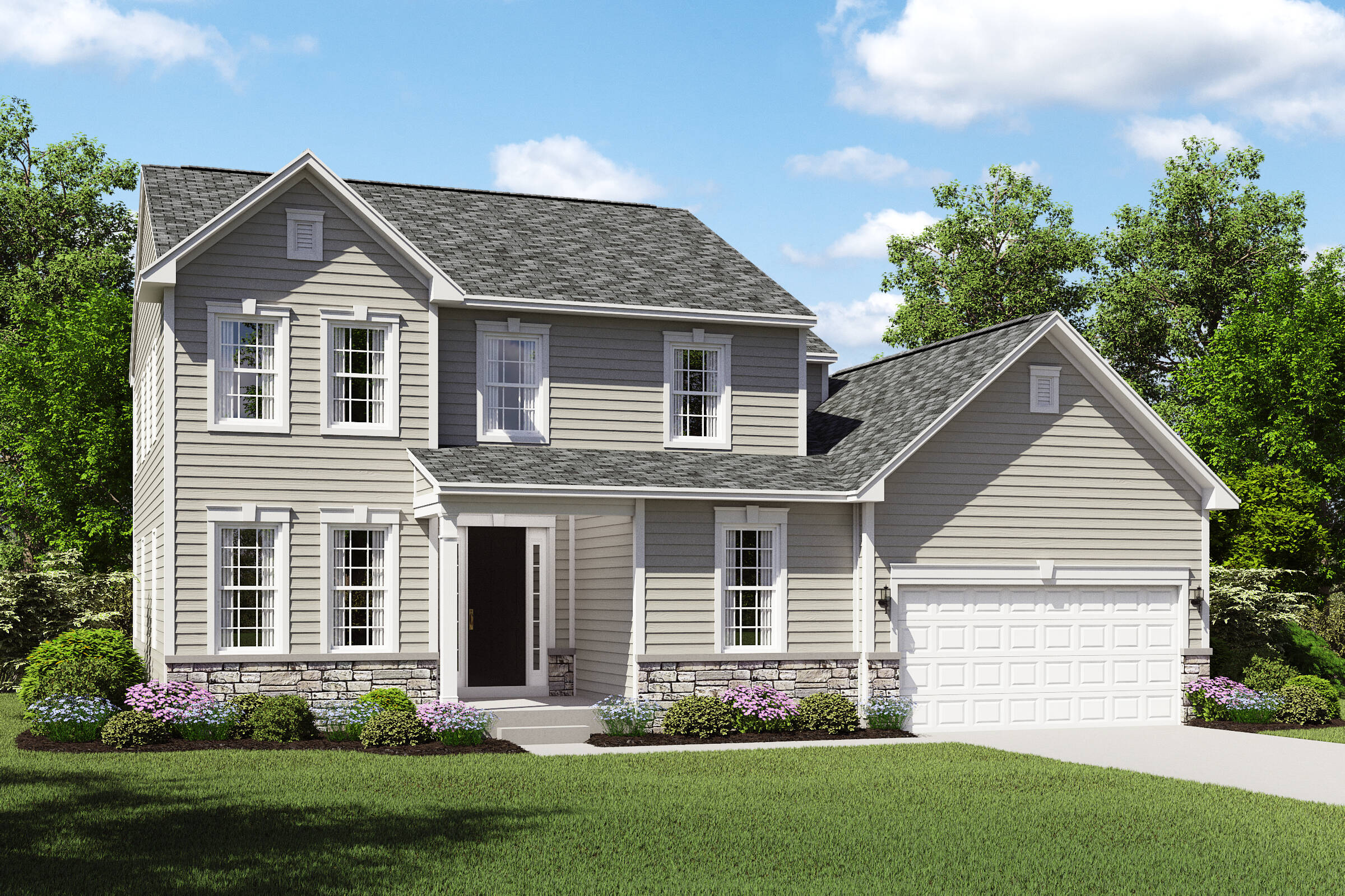 hopewell bt new home two story cleveland ohio