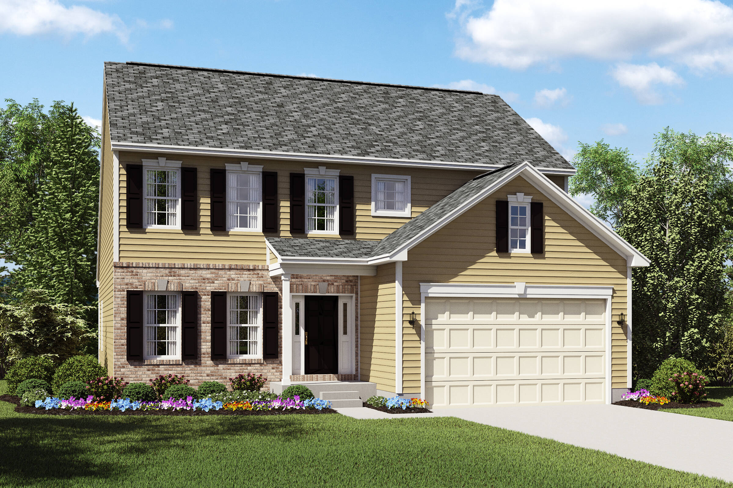 Oakridge-AB- meadow lakes north ridgeville new homes