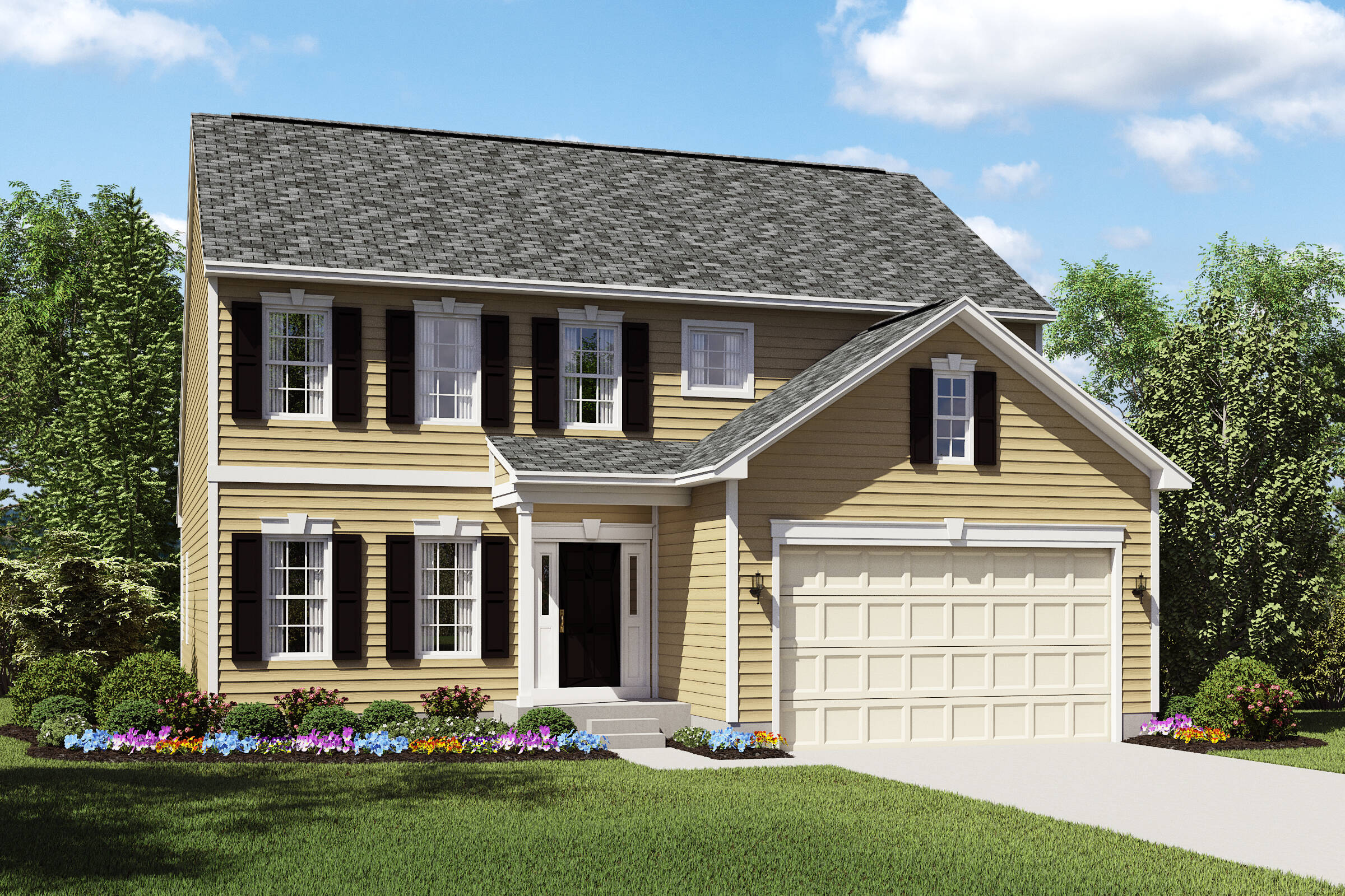 Oakridge-AS meadow lakes new homes k hovnanian homes