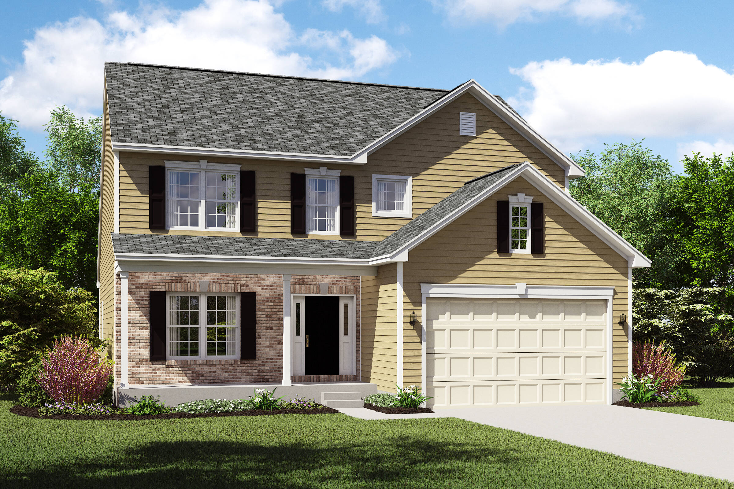 Oakridge-CB-meadow lakes new homes cleveland