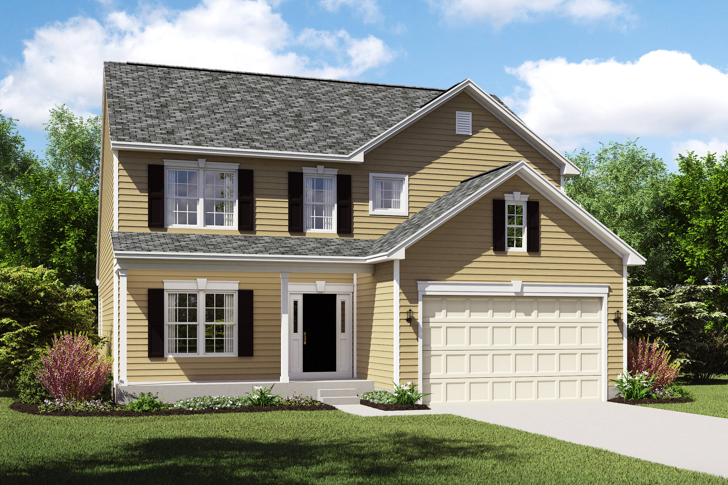 Oakridge-CS meadow lakes new homes k hovnanian homes