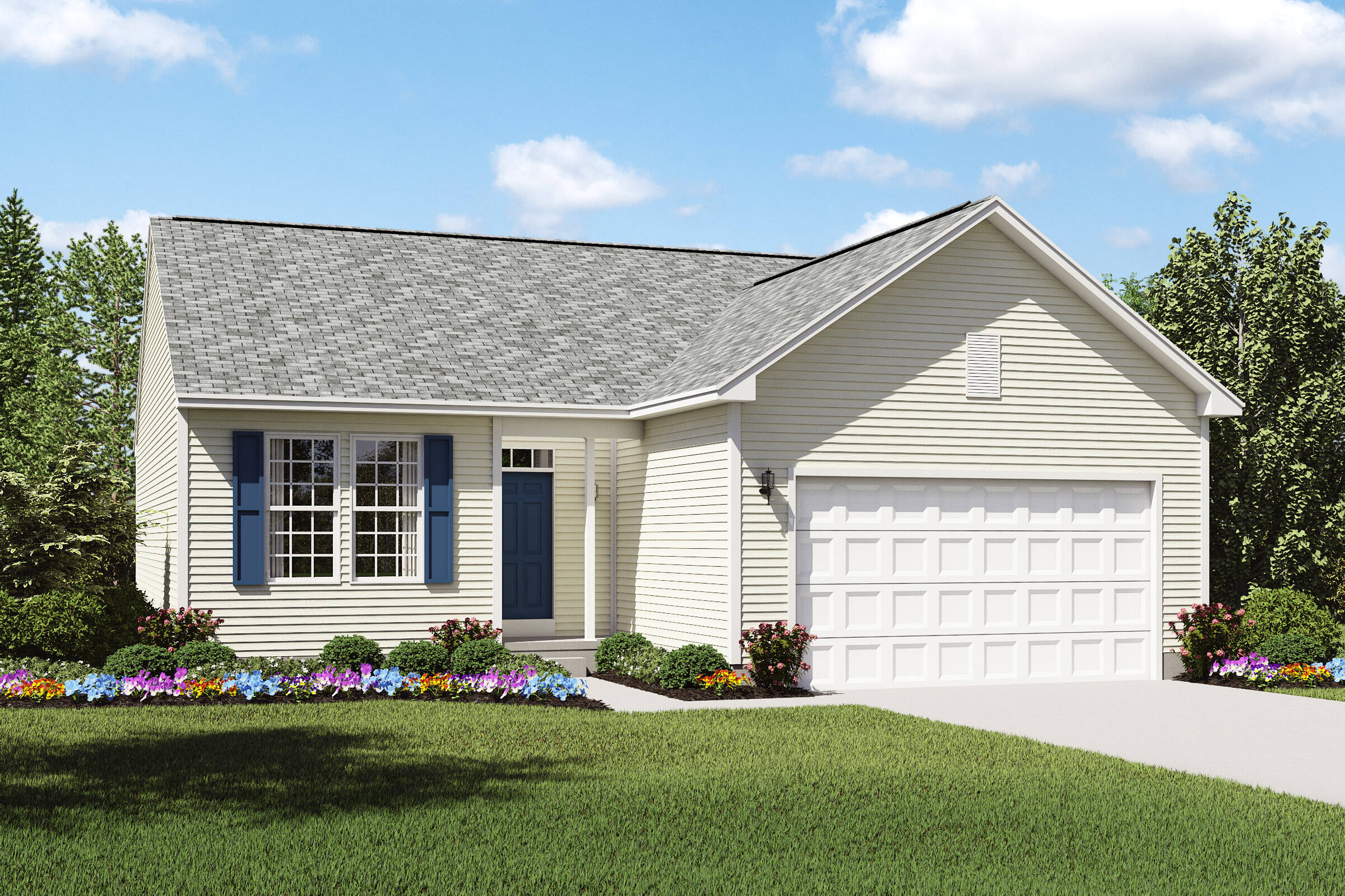 pinacle a new ranch home design northeast ohio