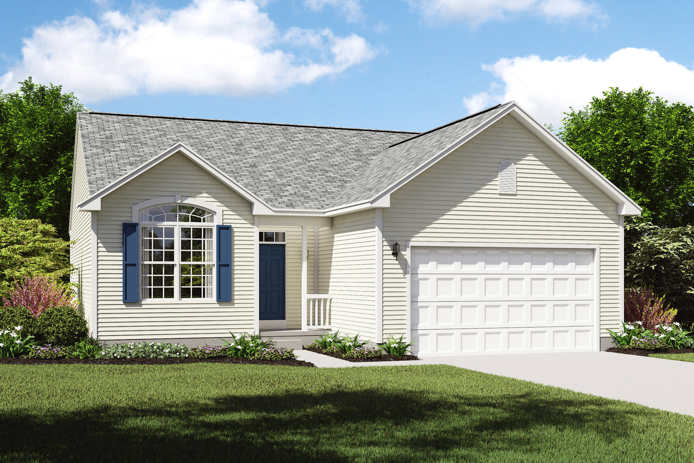 pinacle c ranch home designs cleveland ohio