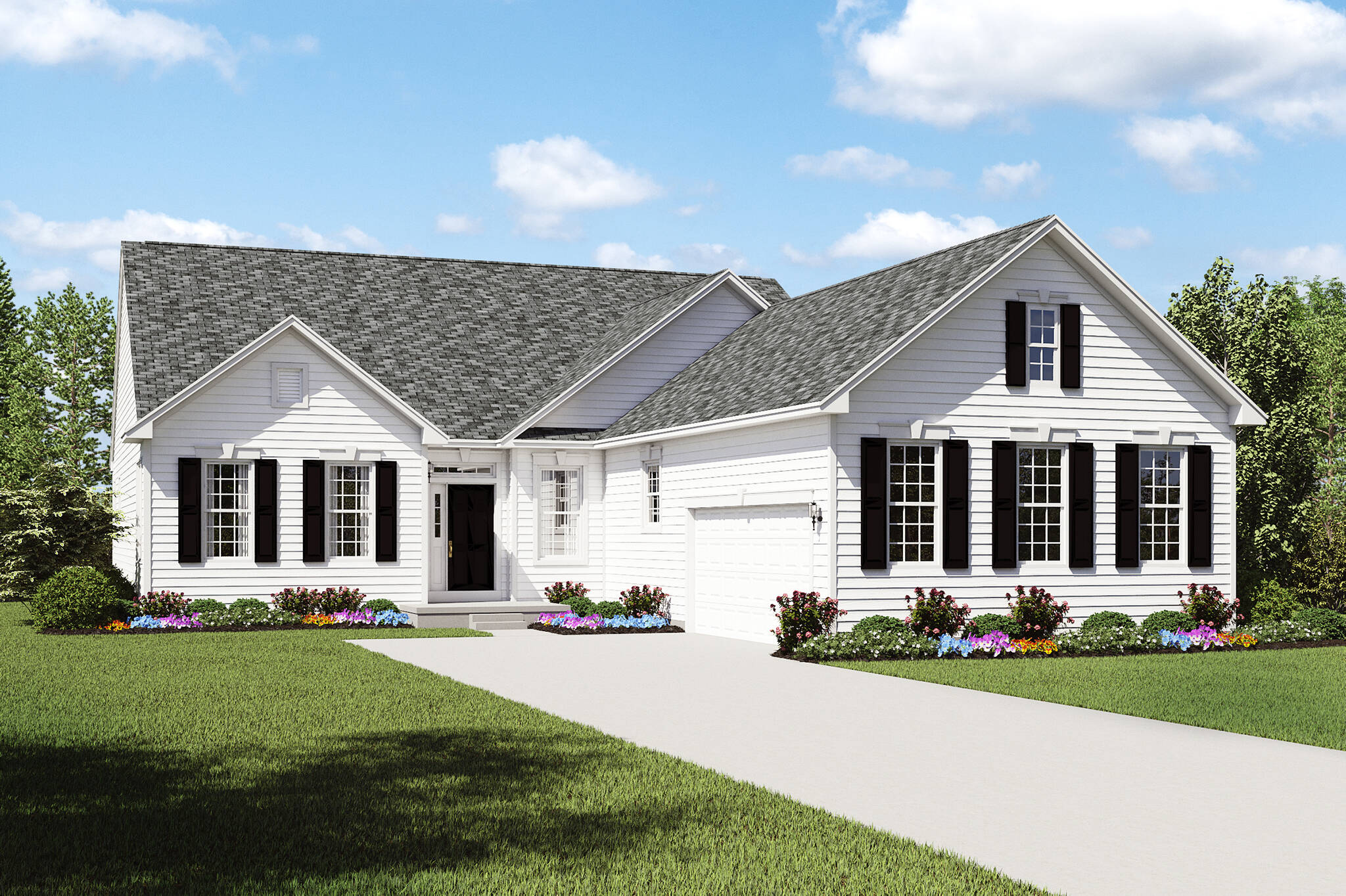 ravenna a preview new ranch home designs cleveland