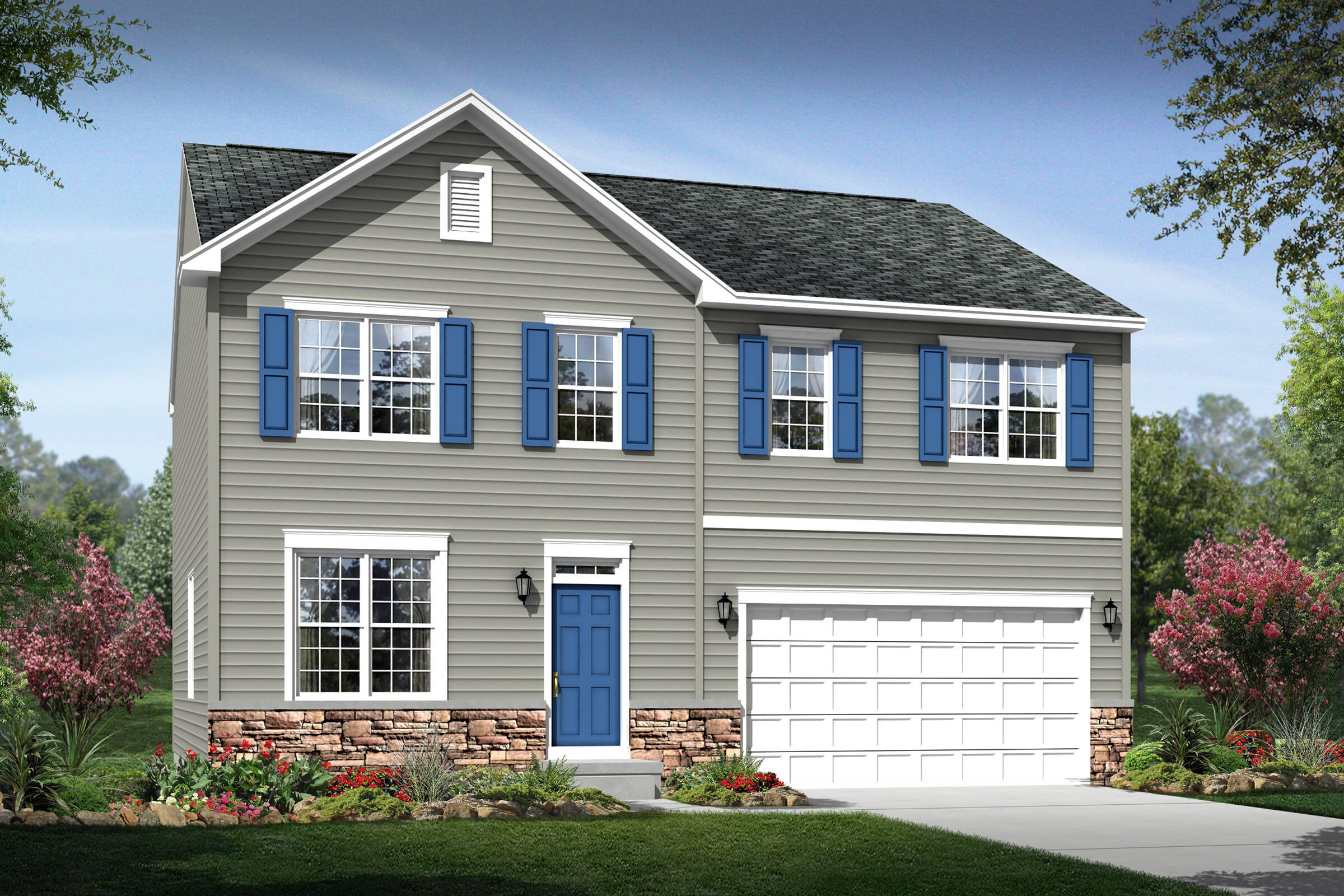 tomasen a stone new homes k hovnanian homes