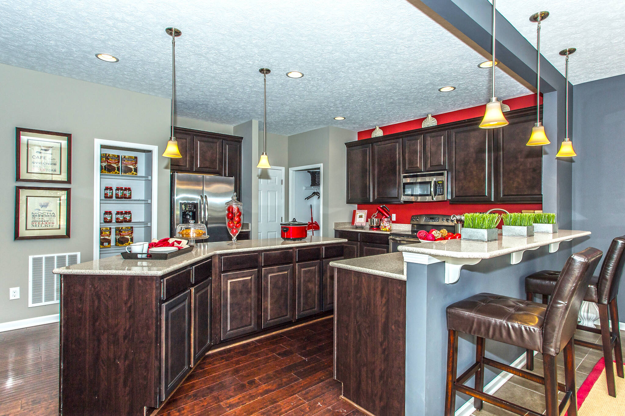 wellington kitchen new homes cleveland