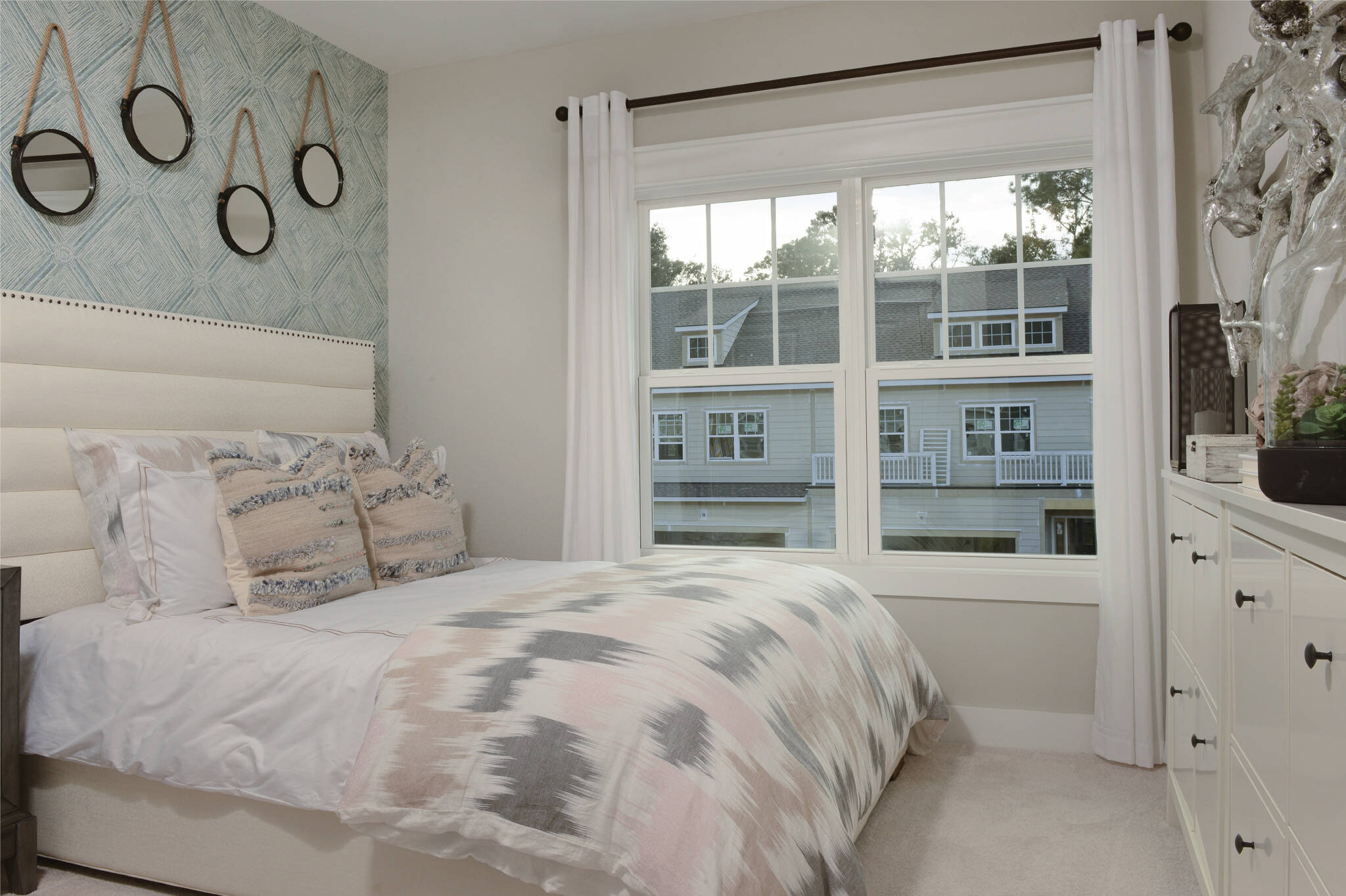 bedroom 3 in surfside at magnolia place new townhomes in hilton head island south carolina
