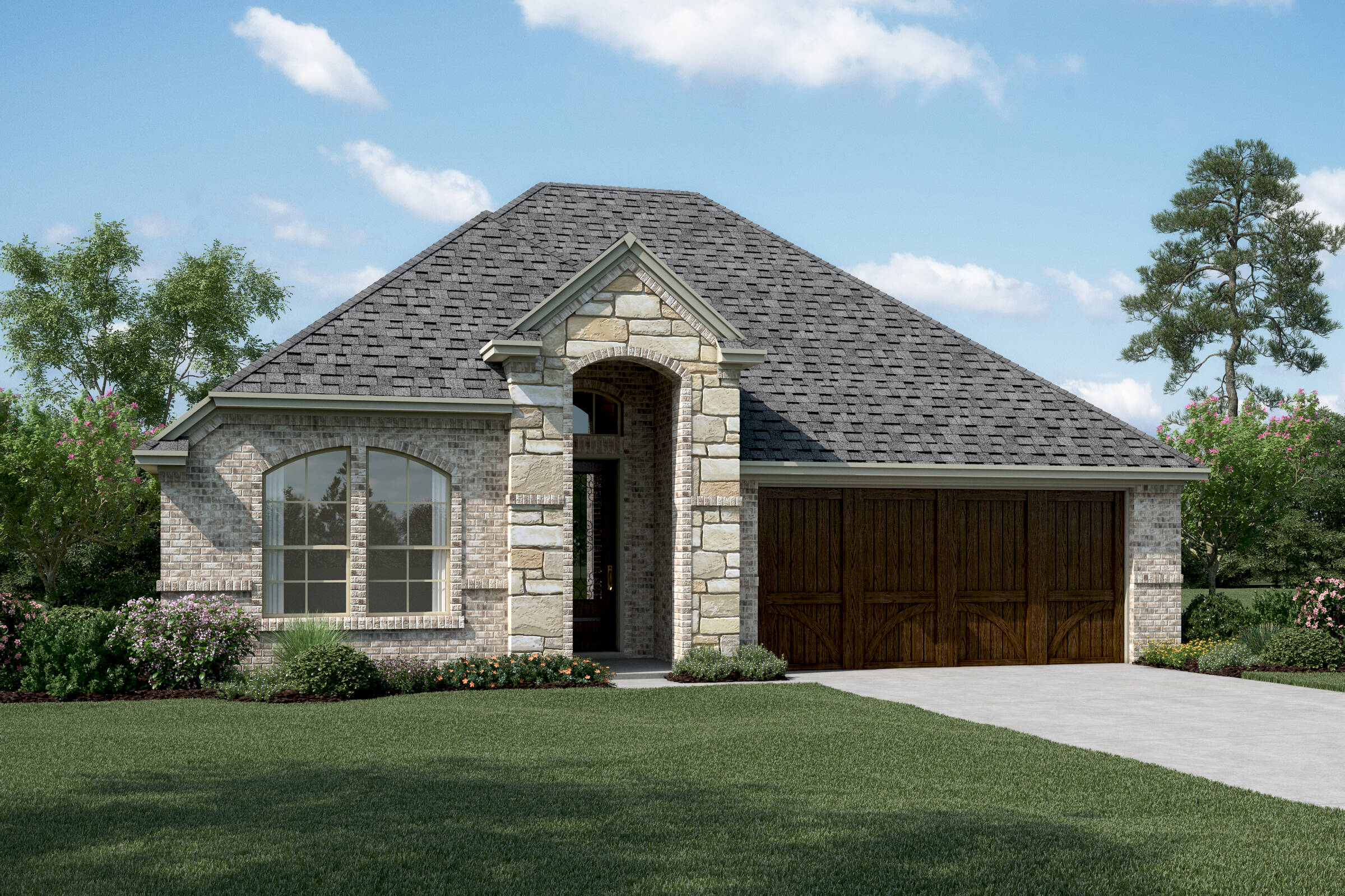 Lynnwood IV B Stone new homes in dallas texas