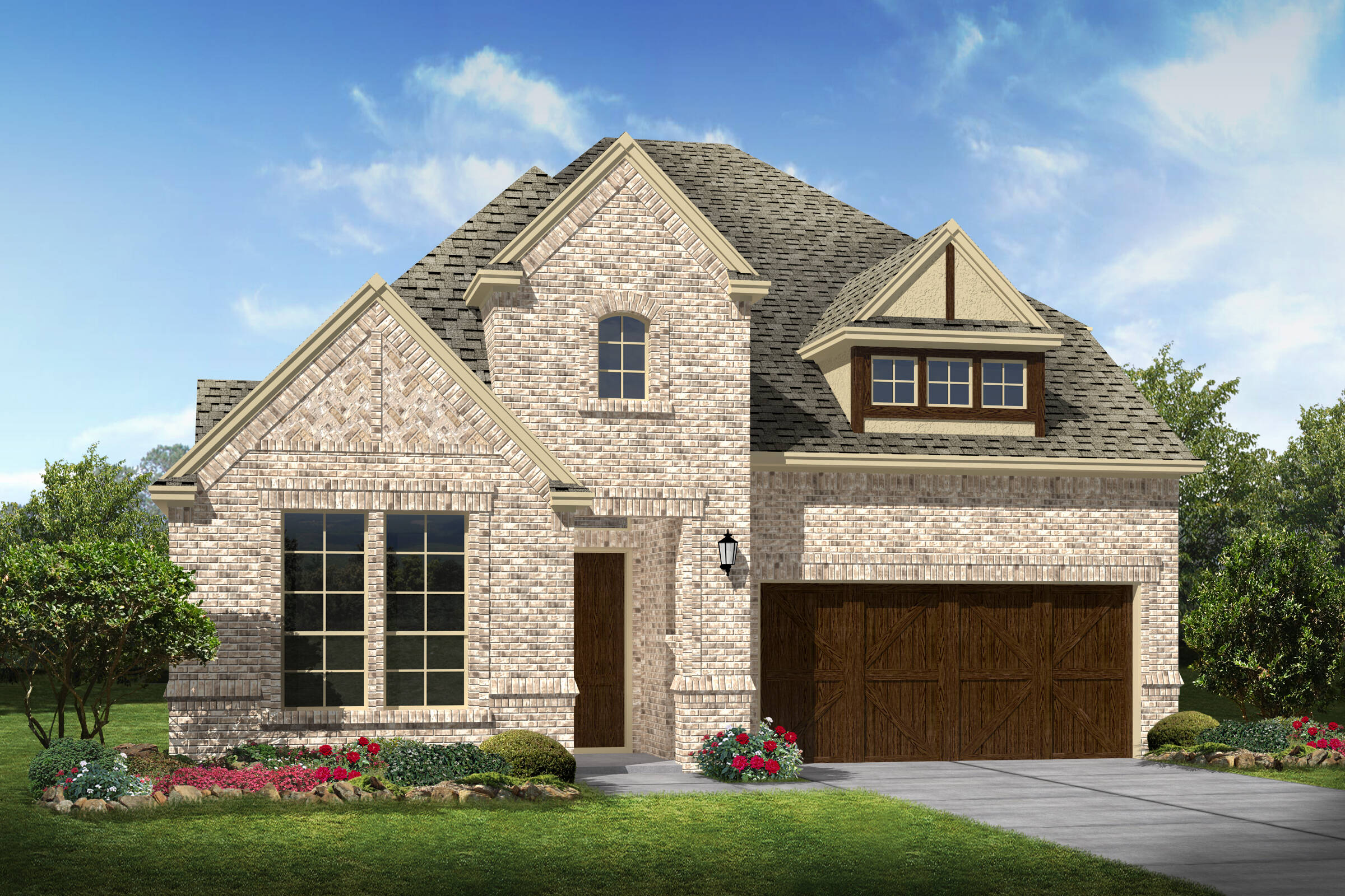 Bradbury III A new homes dallas texas