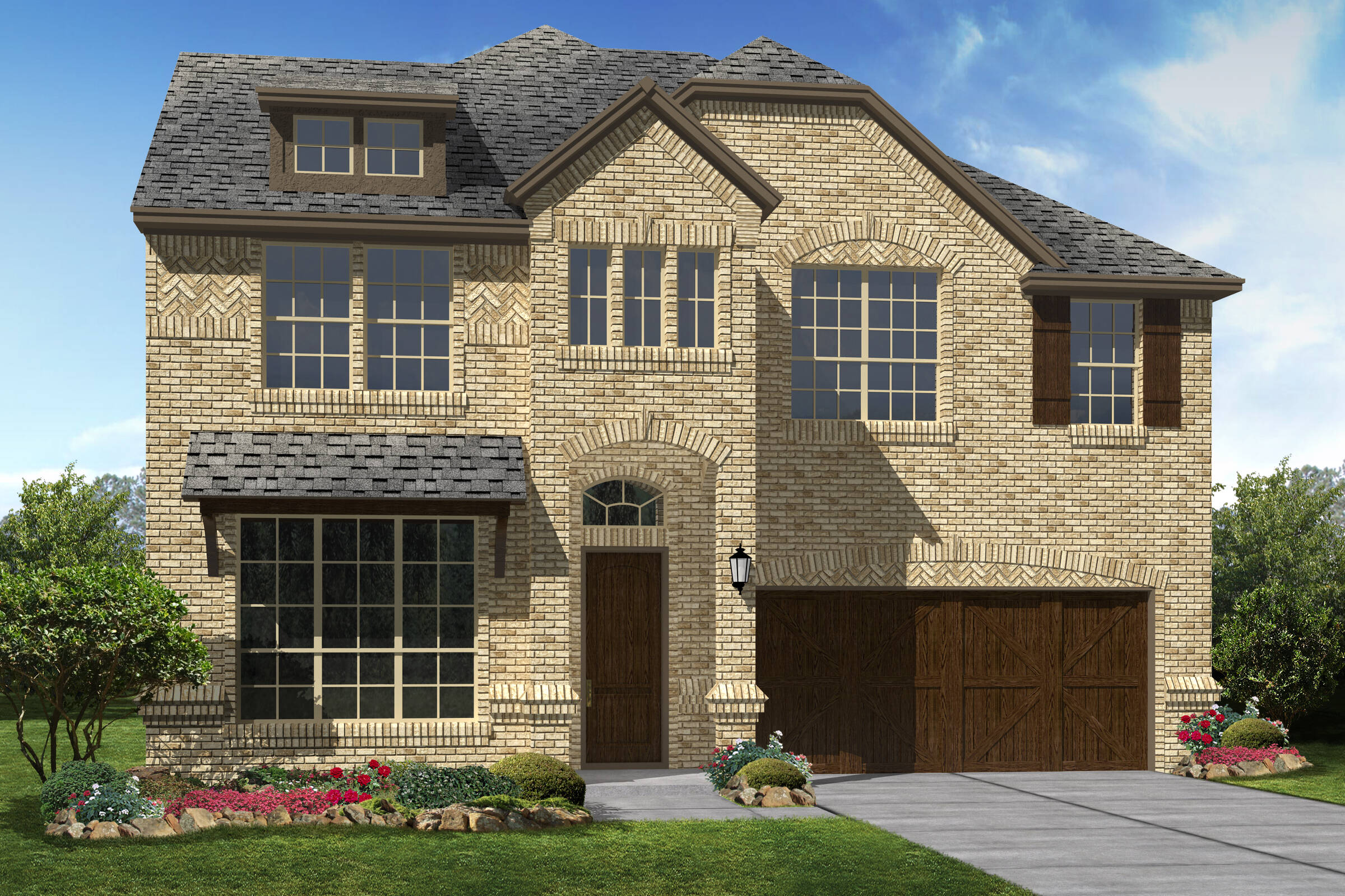 brookshire III A new homes Dallas texas