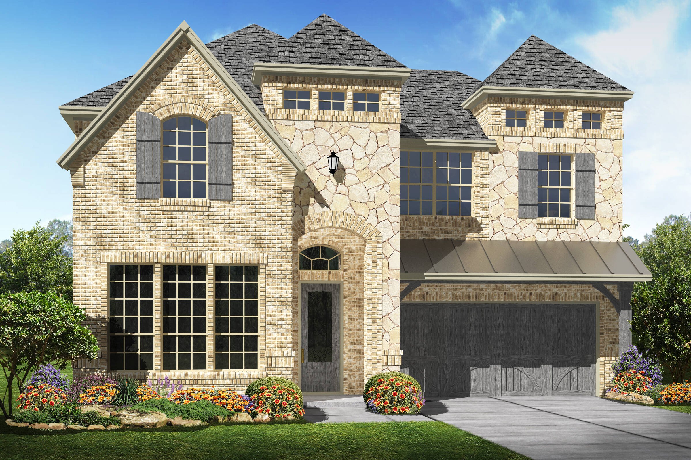 Brookshire III B 2 car new homes Irving Texas