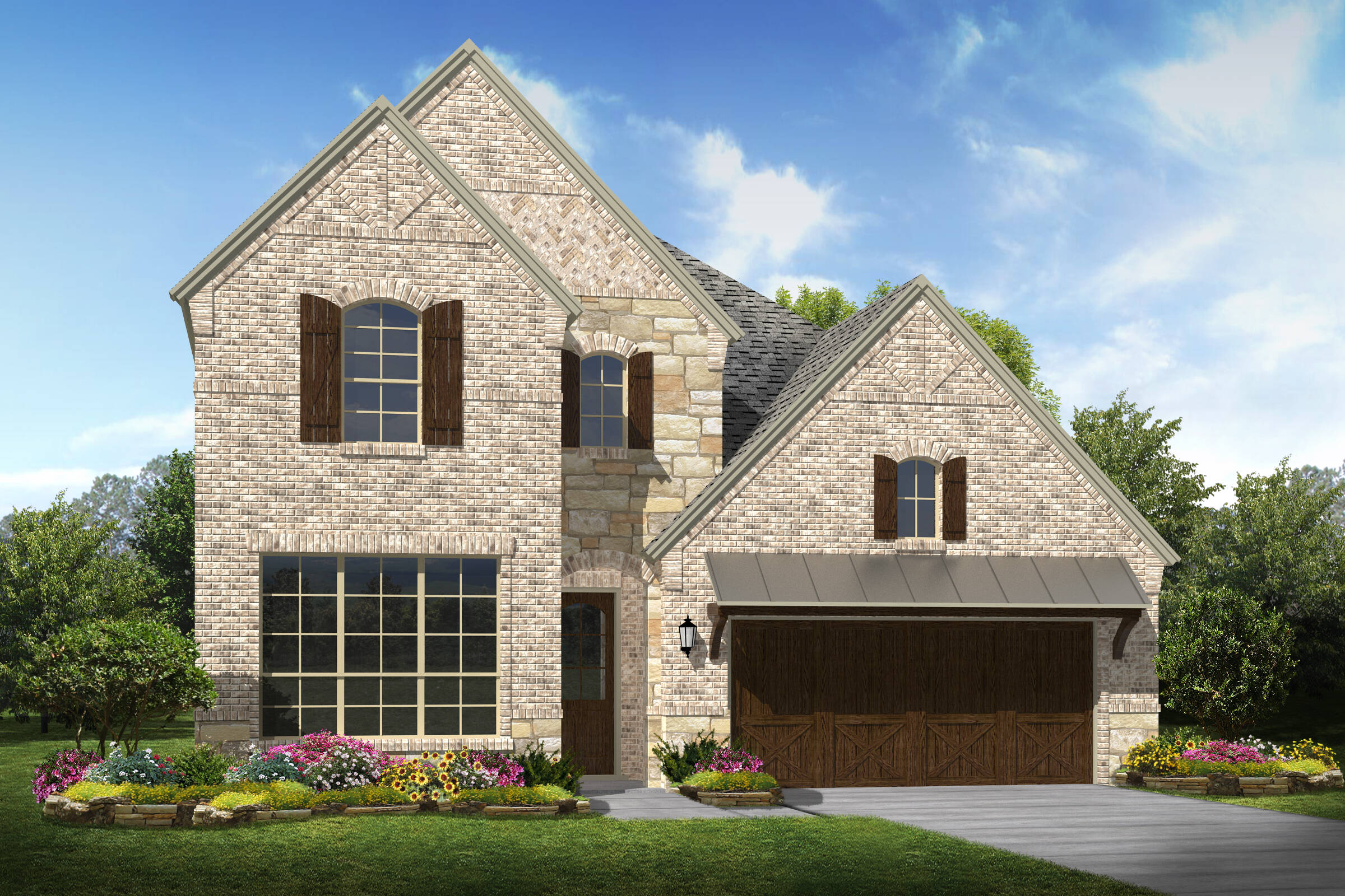 Fairfield II C new homes Irving Texas