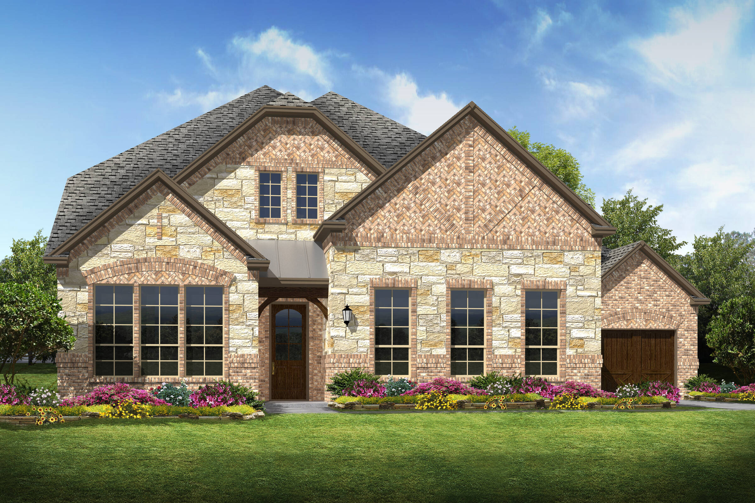 Forester V L Stone new homes dallas tx