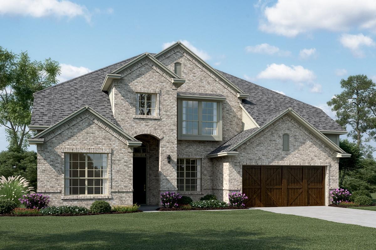 First Texas Homes Hillcrest Floor Plan