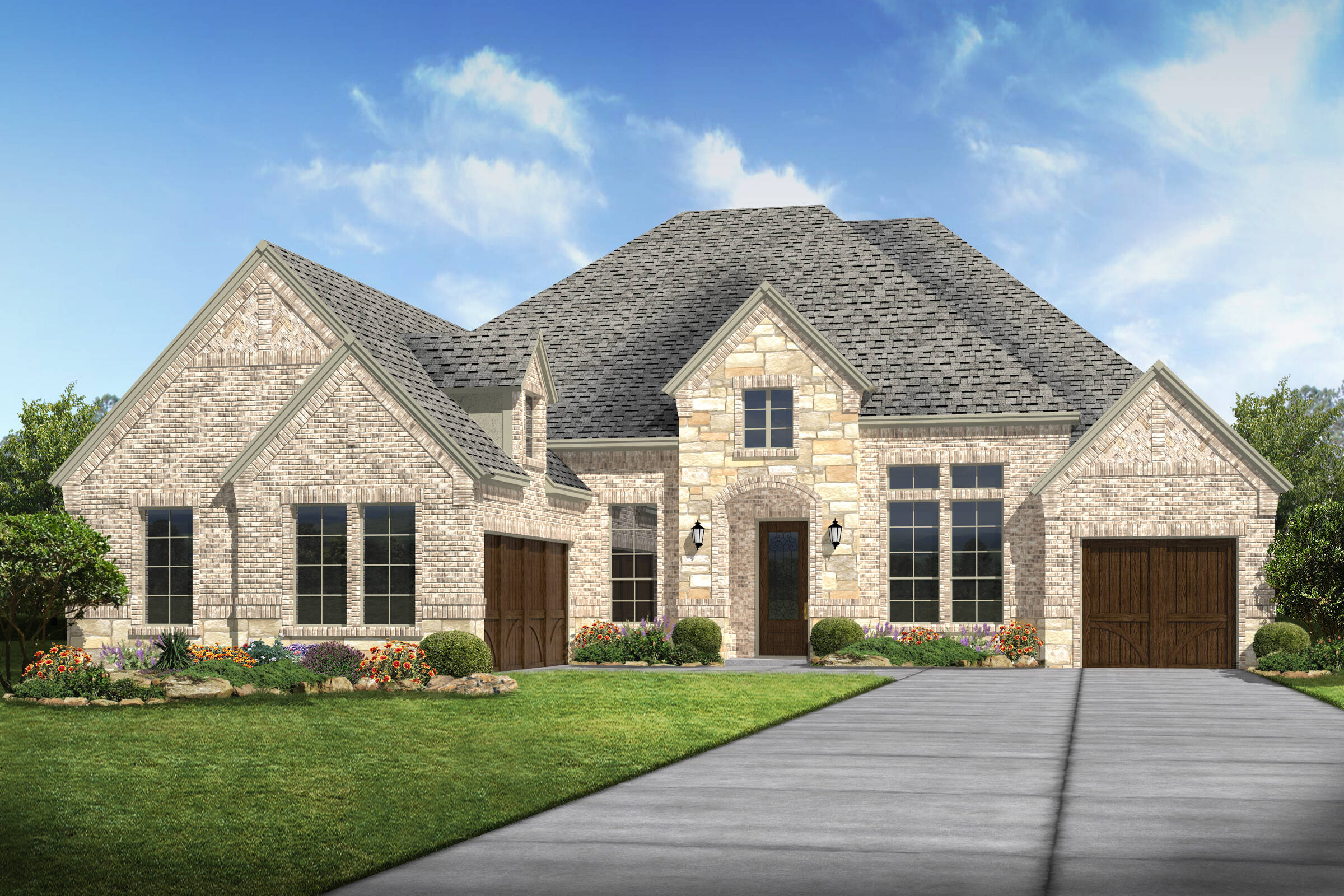 landover k stone new home Dallas texas