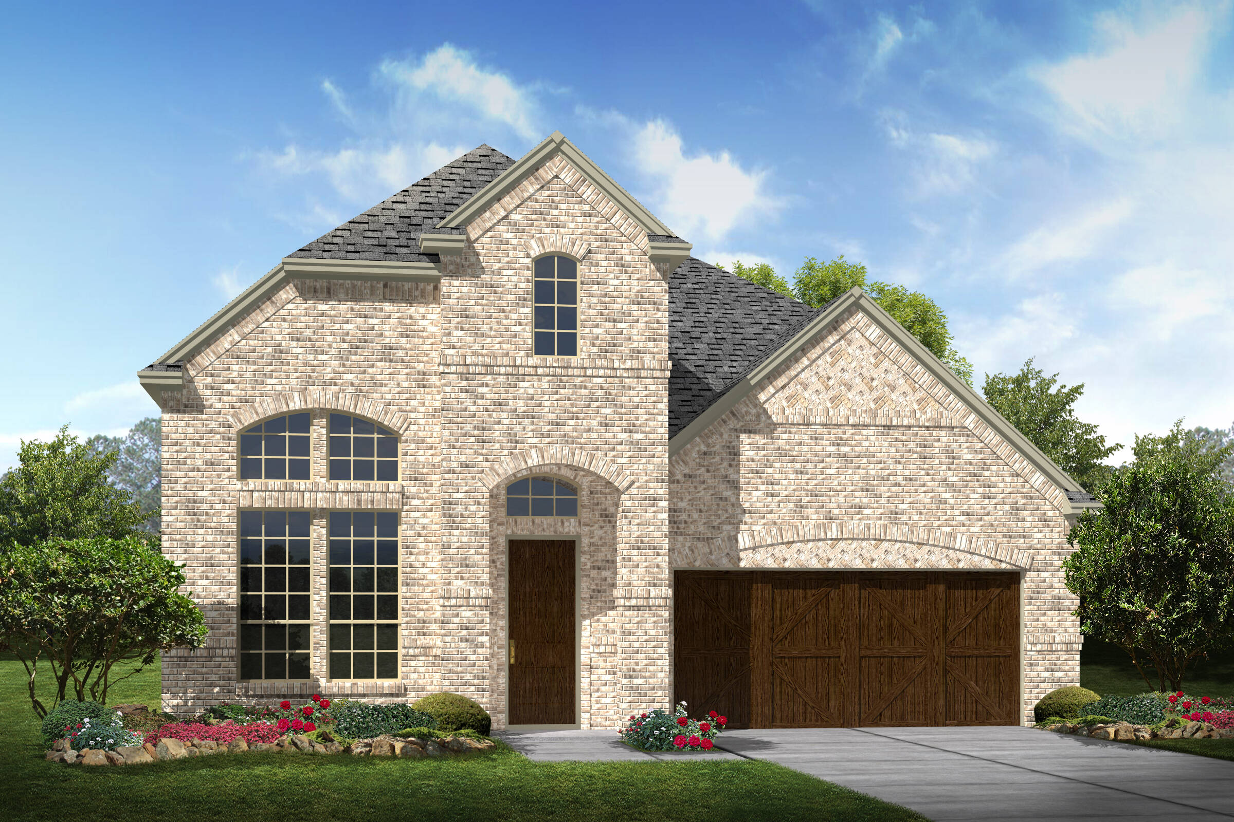 Langston III A Brick New Home Near Dallas TX
