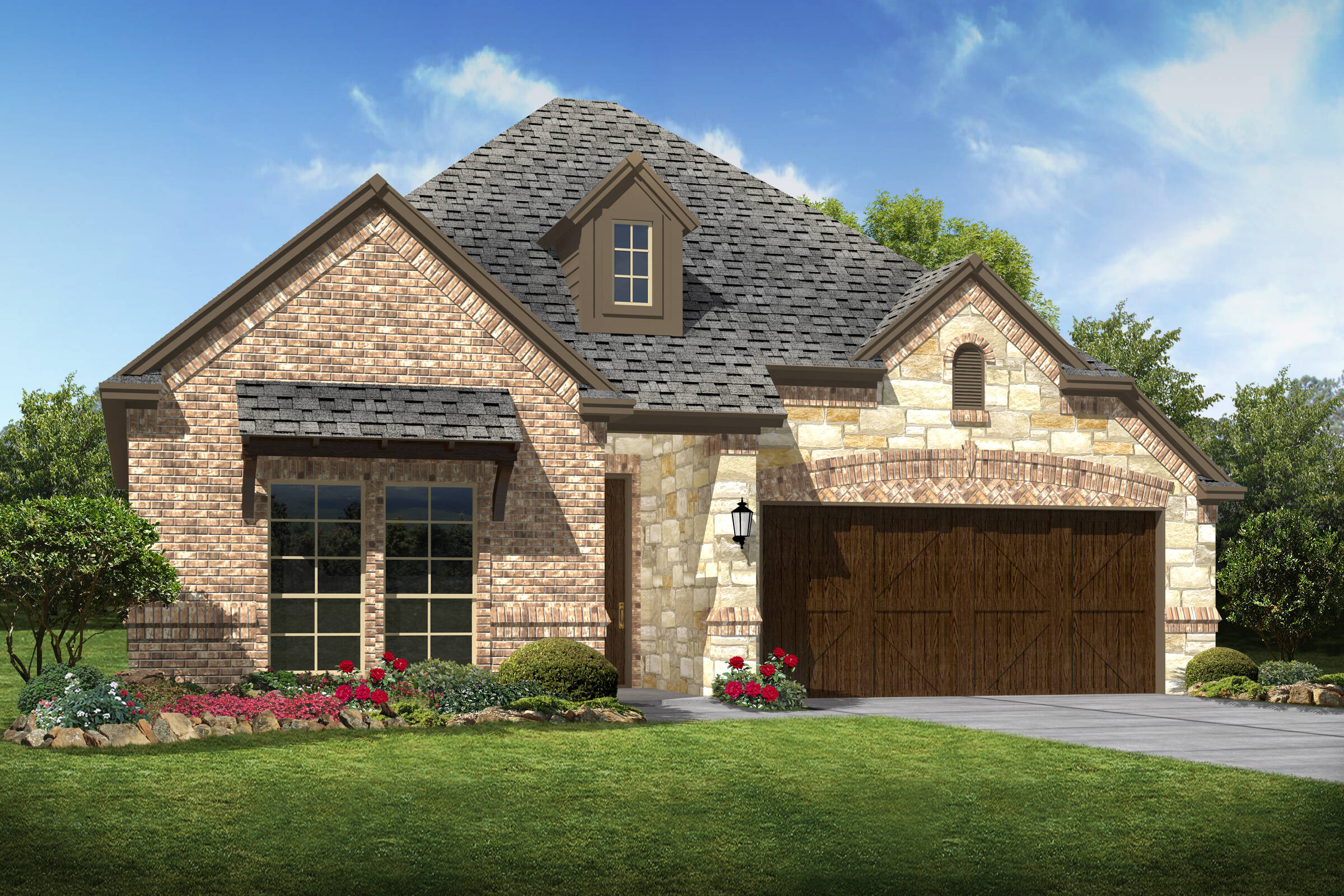 Laredo d stone new homes dallas texas