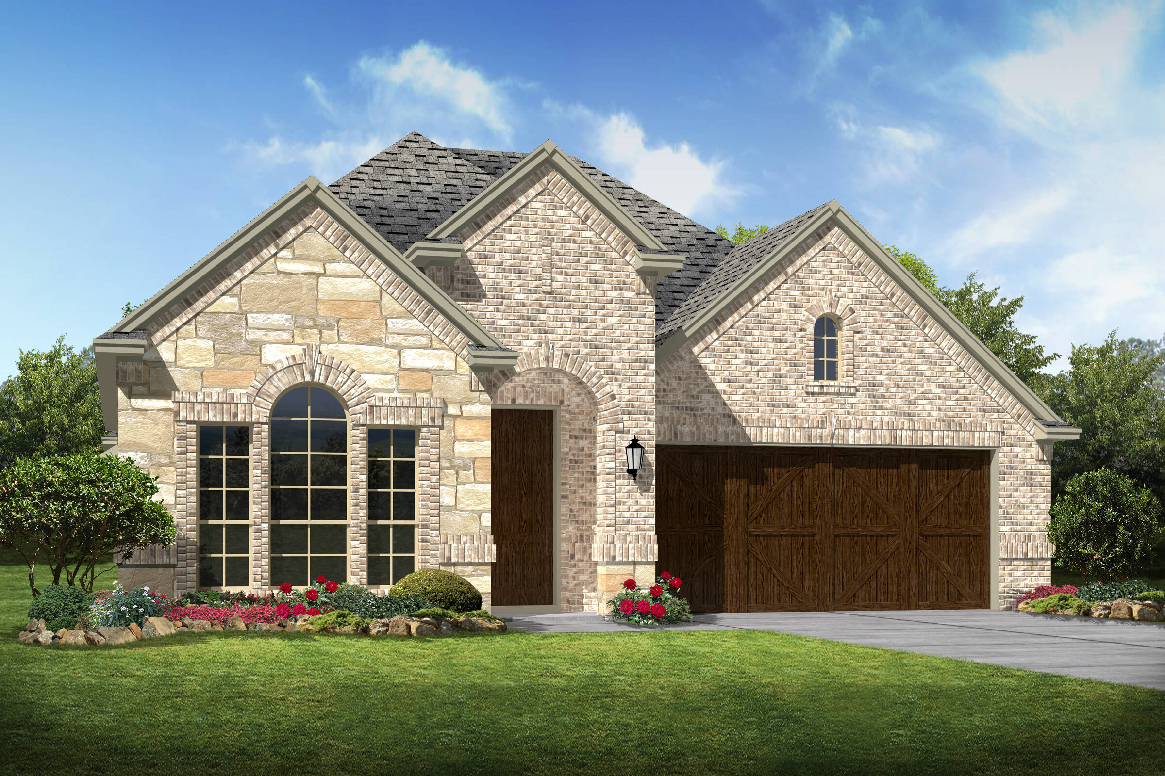Lawrence d stone new homes dallas texas