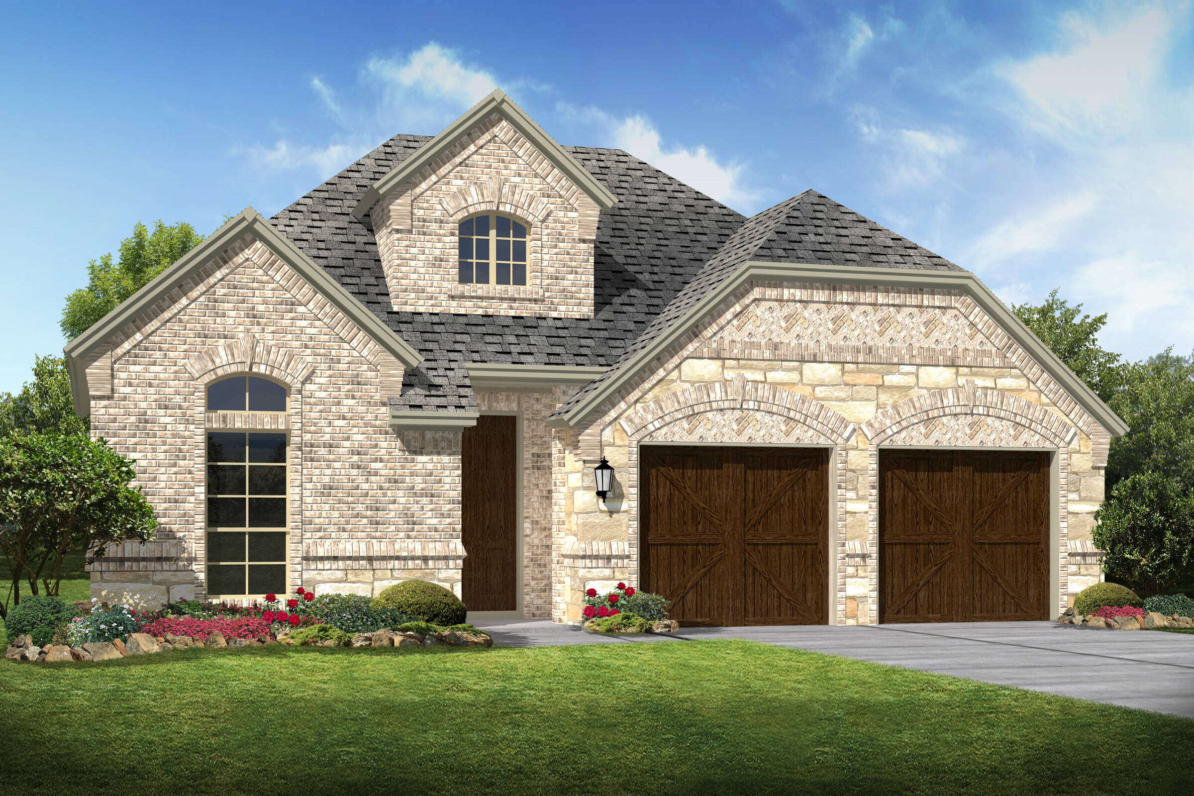 Lexington d stone new homes dallas texas
