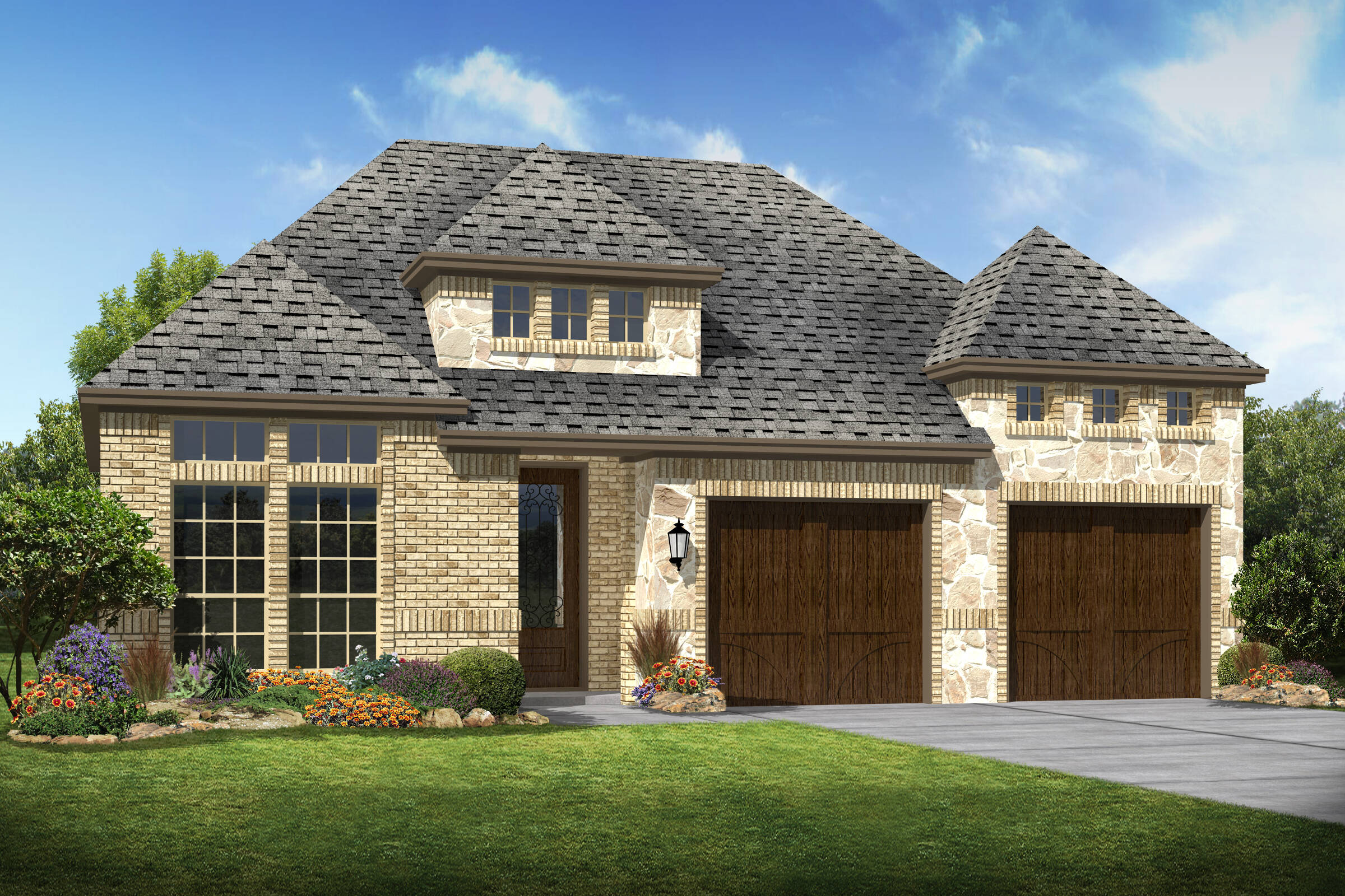 Lexington e stone new homes dallas texas