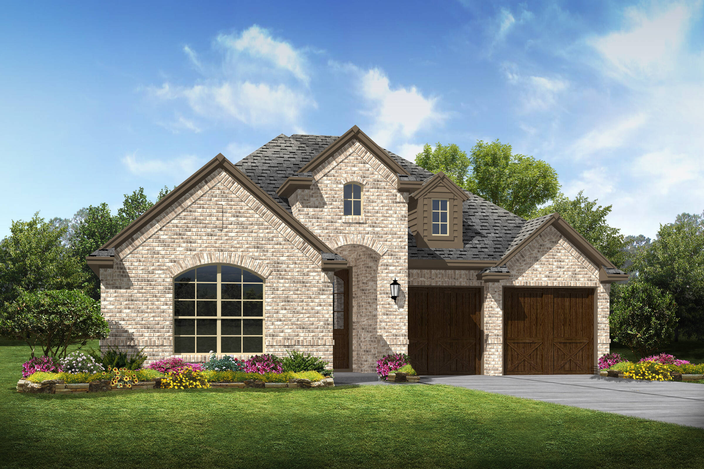Lorimar c new homes dallas texas
