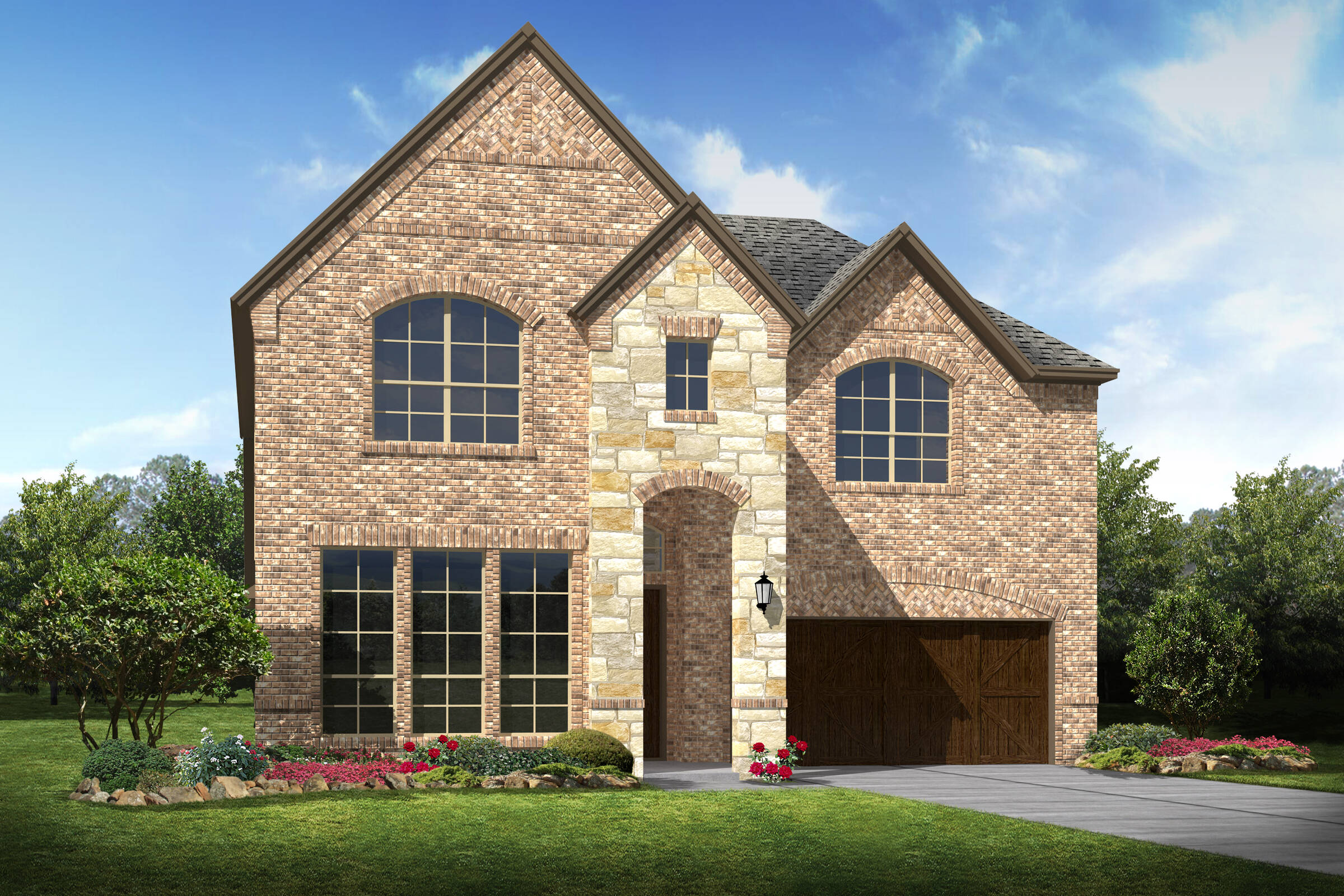 Lynbrook d stone new homes dallas texas