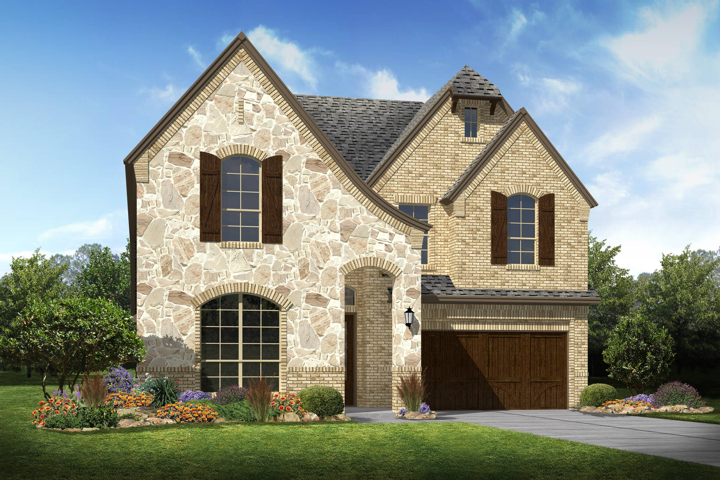 Lynbrook e stone new homes dallas texas