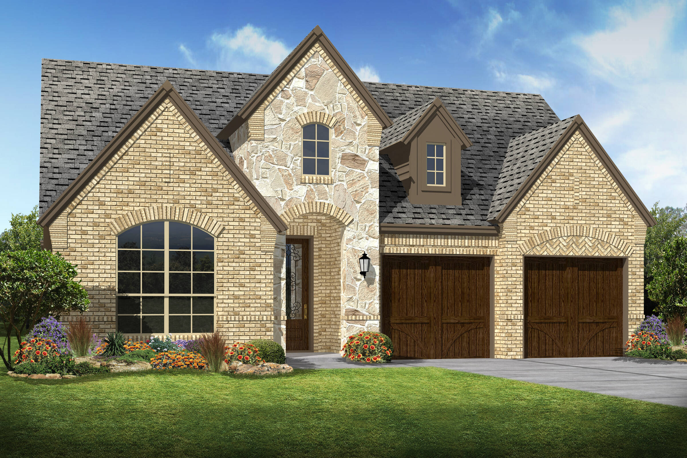 Lynnwood e stonenew homes dallas texas