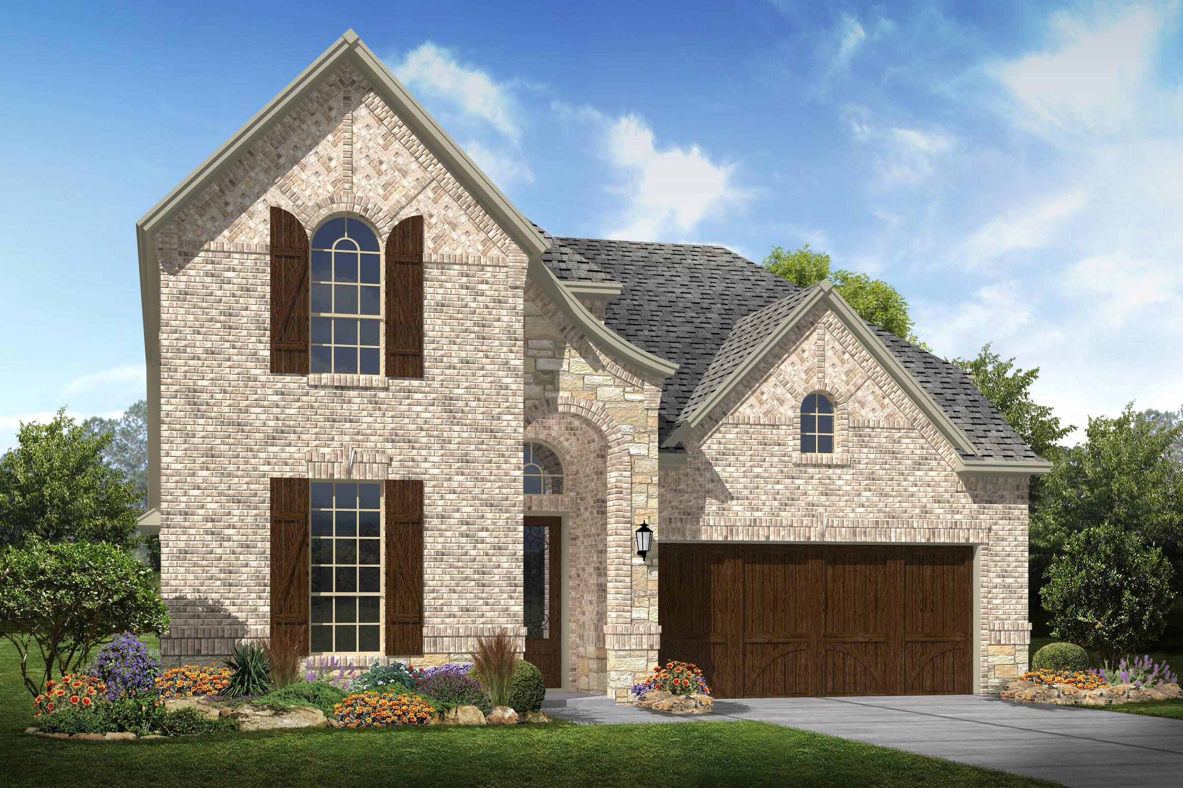 Lyoncrest e stone new homes dallas texas