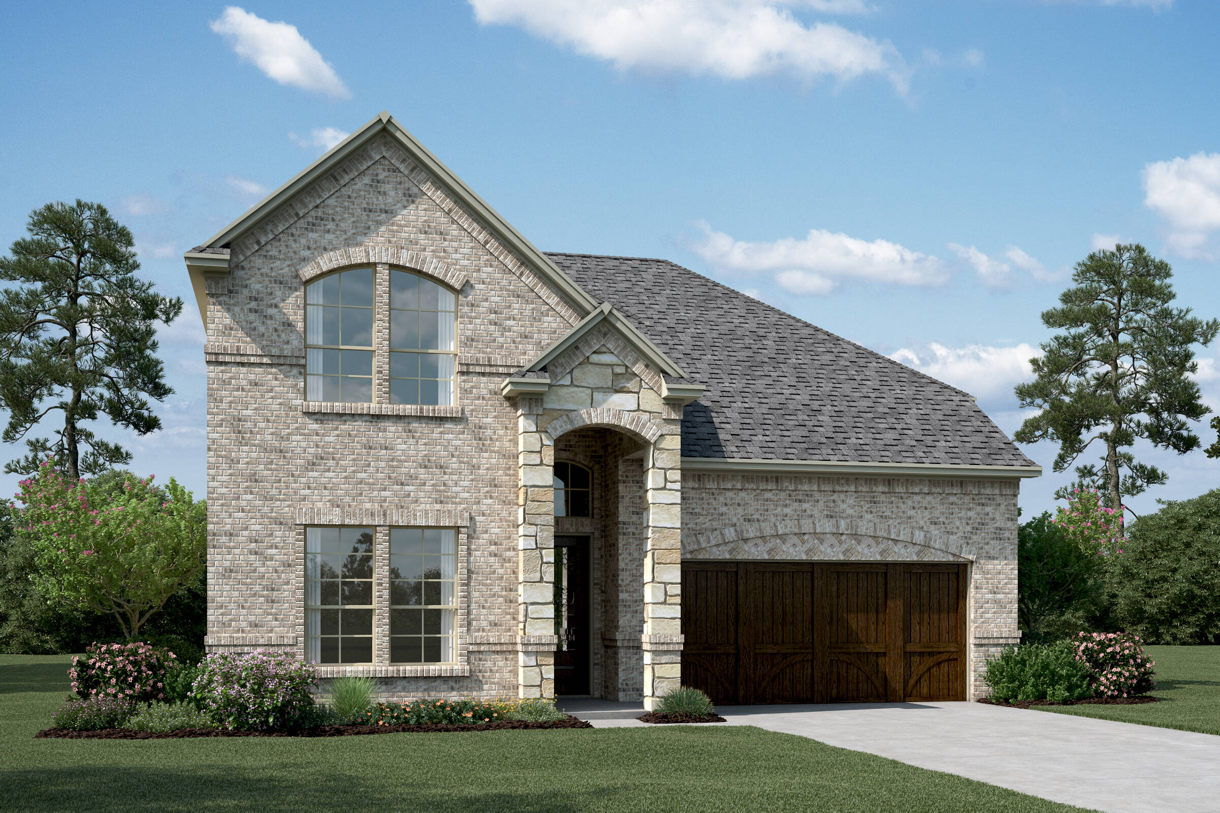 Lyoncrest-IV-B-Stone-elev-New-Home