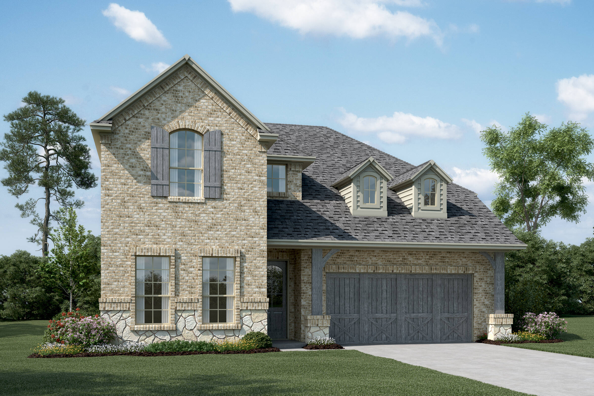 Lyoncrest-IV-C-Stone-elev-New-Home