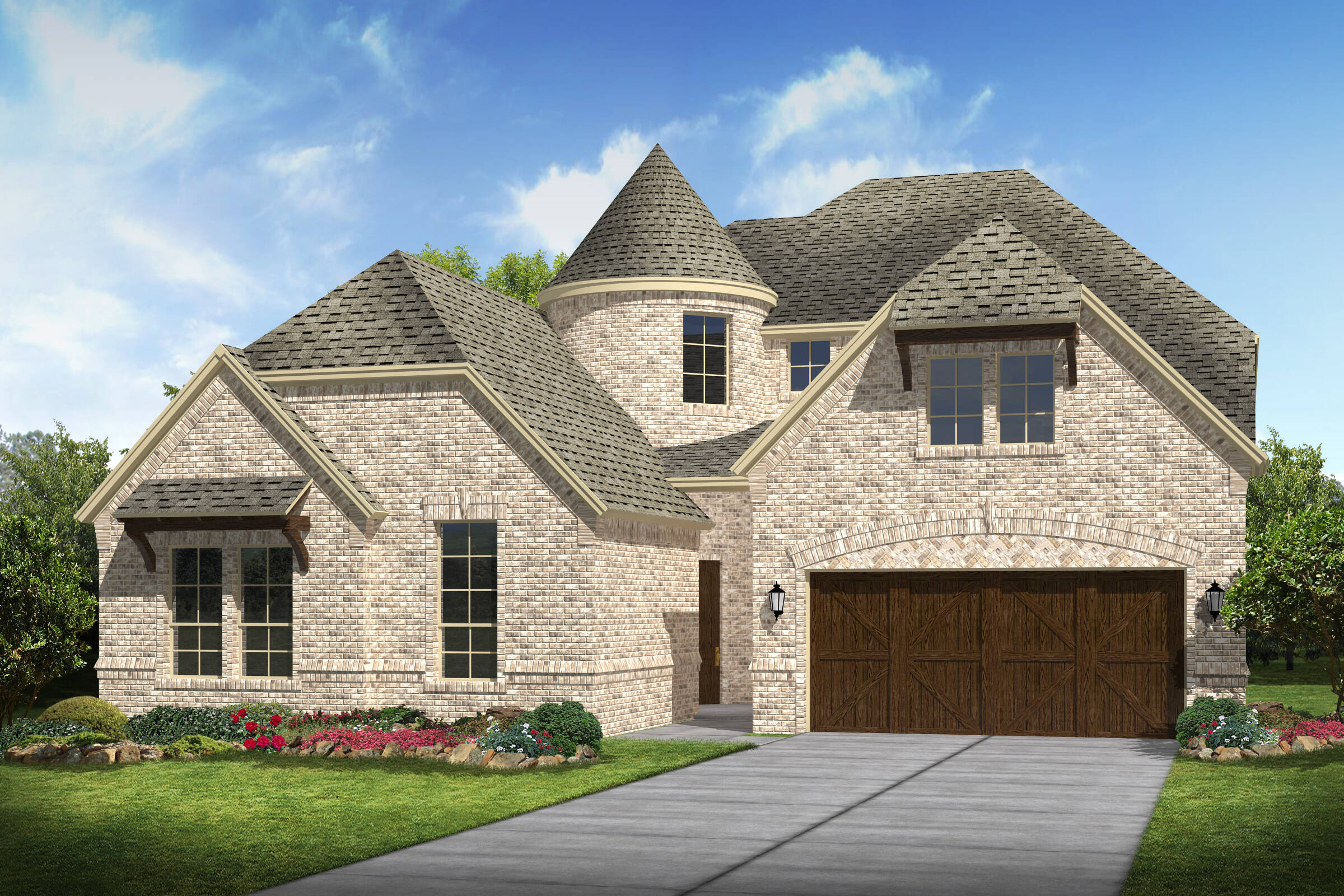 Meadowglen III A new homes frisco tx