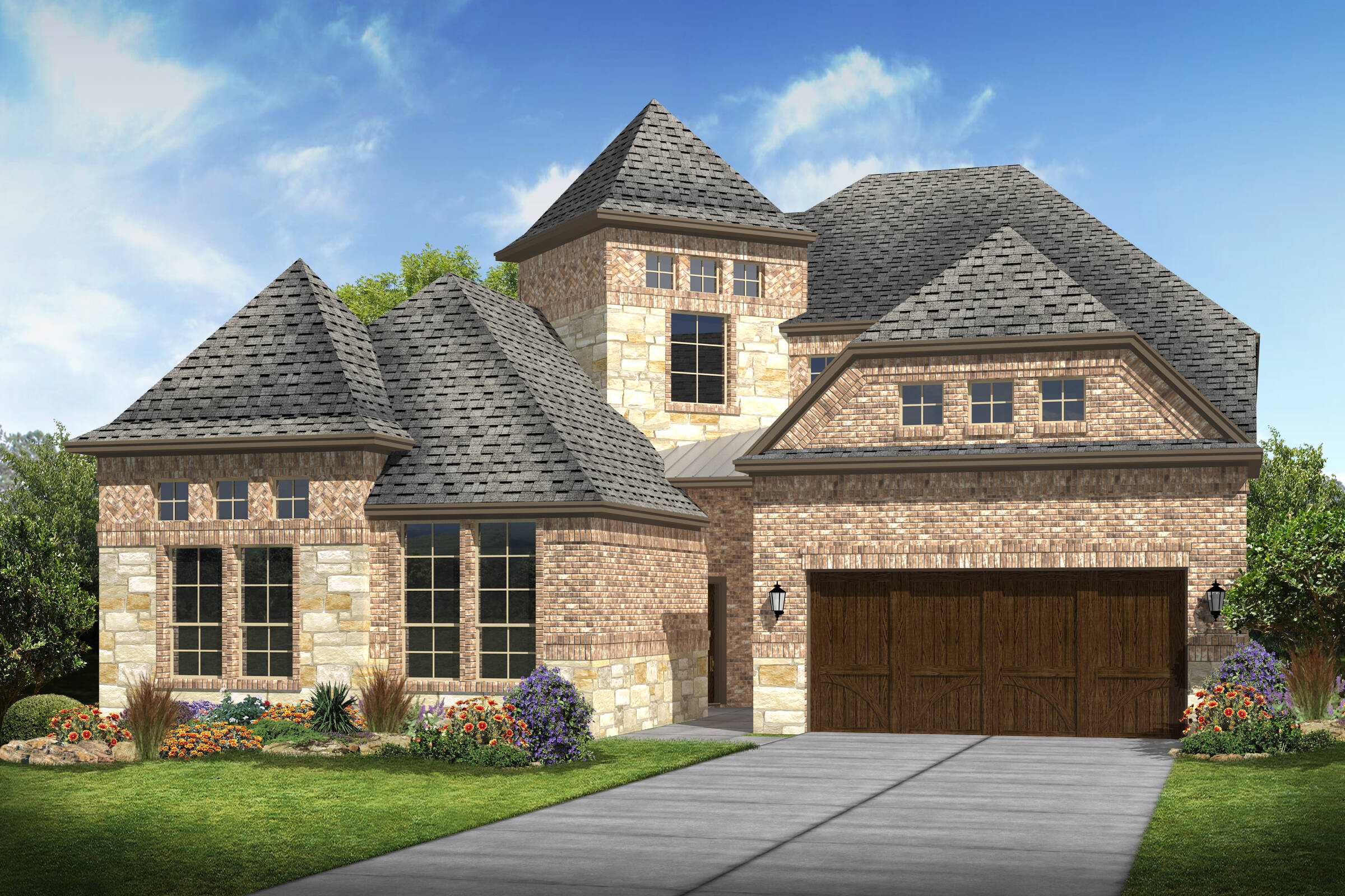 Meadowglen III B Stone new homes frisco tx