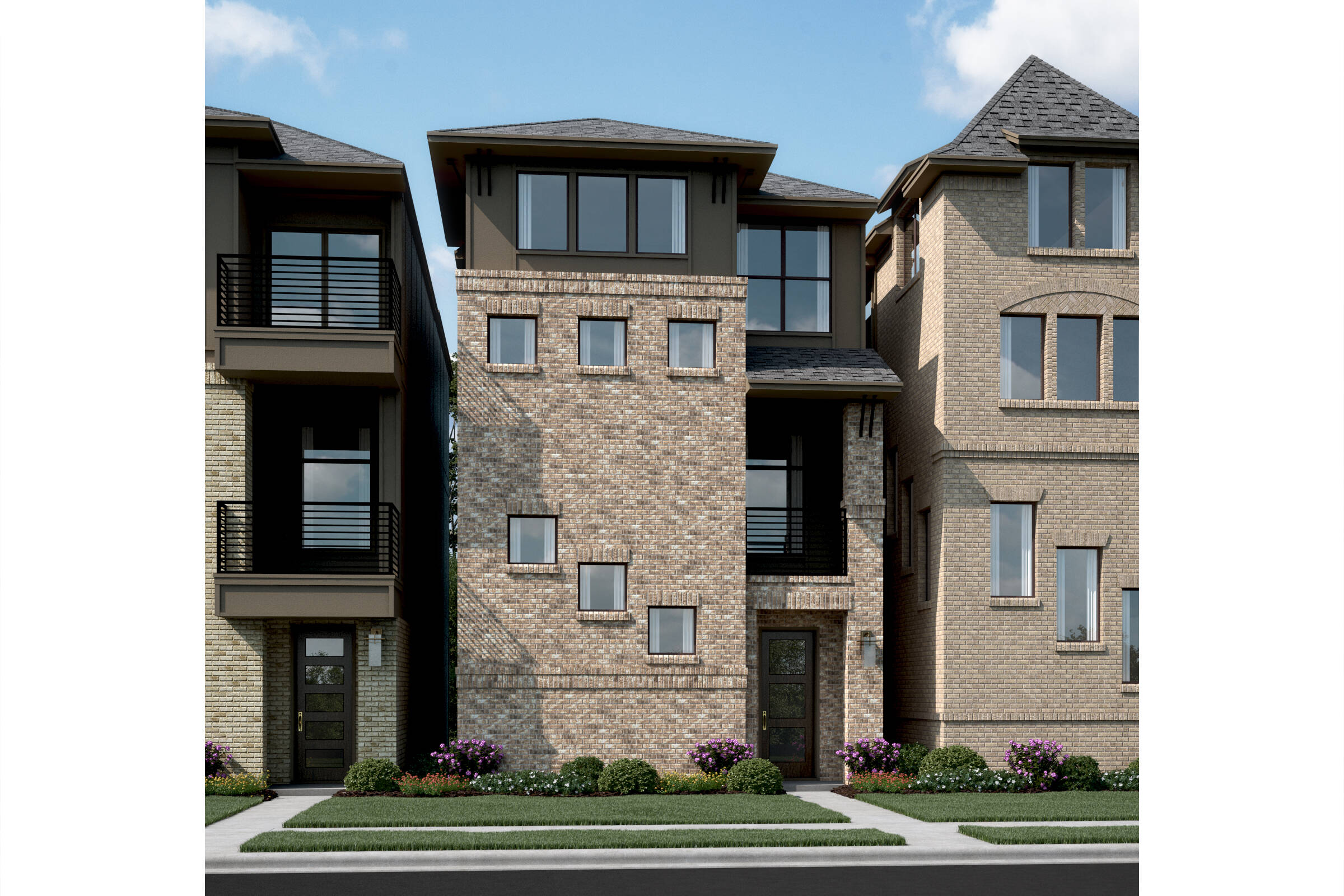 Meredith S elev new home in Dallas