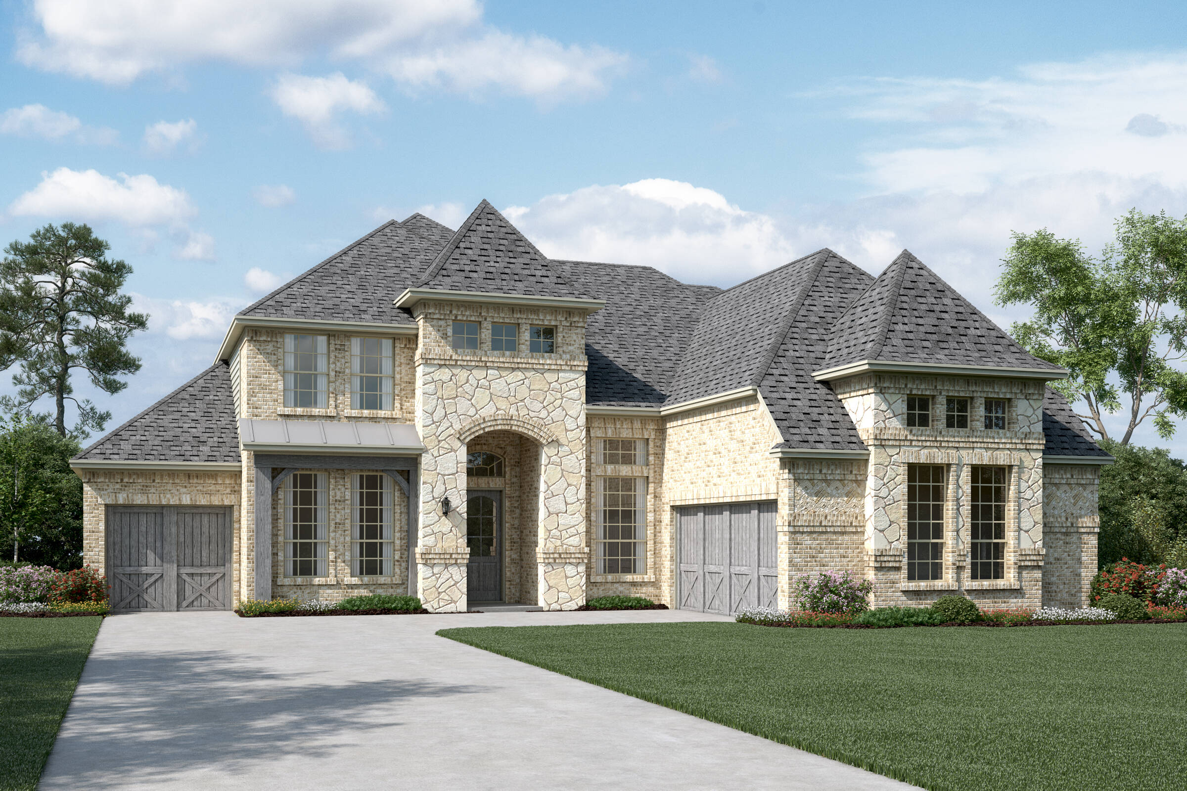 Prestondale V L Stone new homes dallas texas