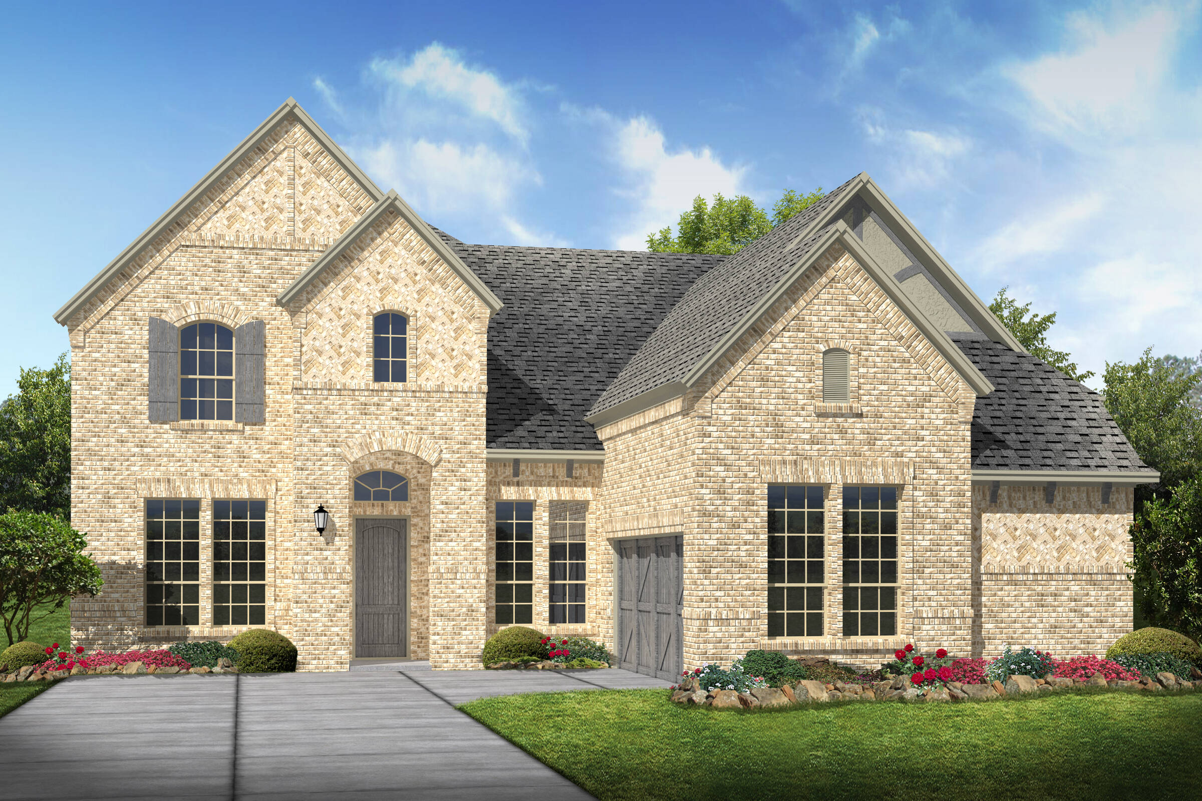 Prestondale IV J elev new homes in Dallas TX