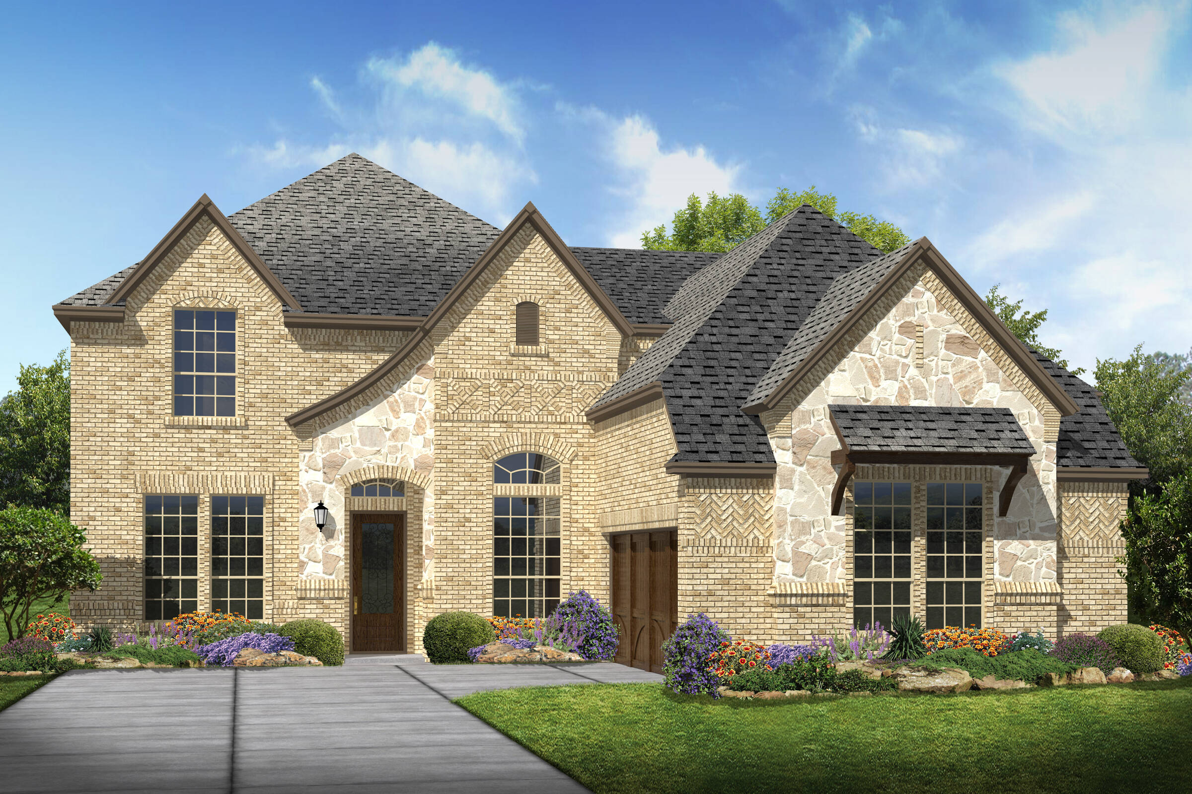 Prestondale IV K elev new homes in Dallas TX