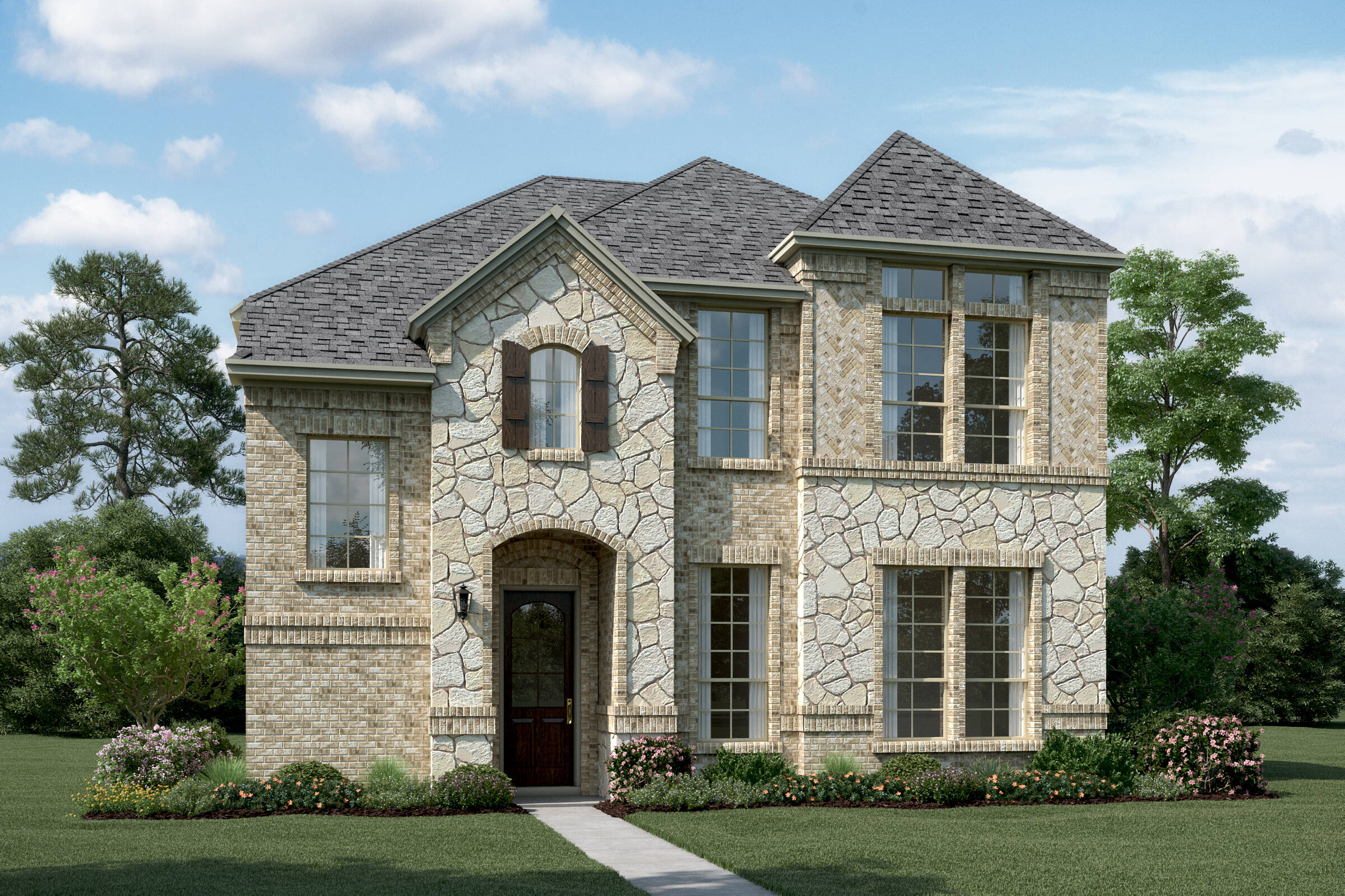 Riverchase T Stone new homes Dallas tx